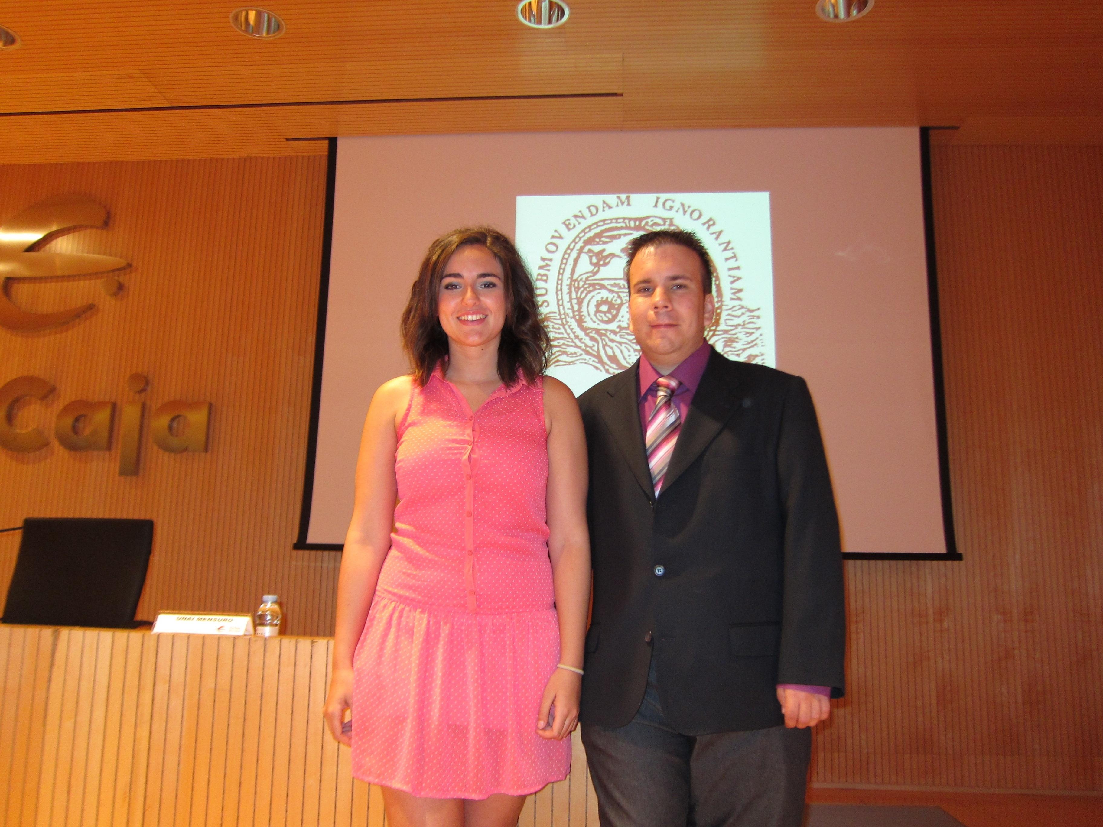 Jóvenes investigadores comparten sus trabajos y experiencias en un congreso, en Ibercaja Patio de la Infanta