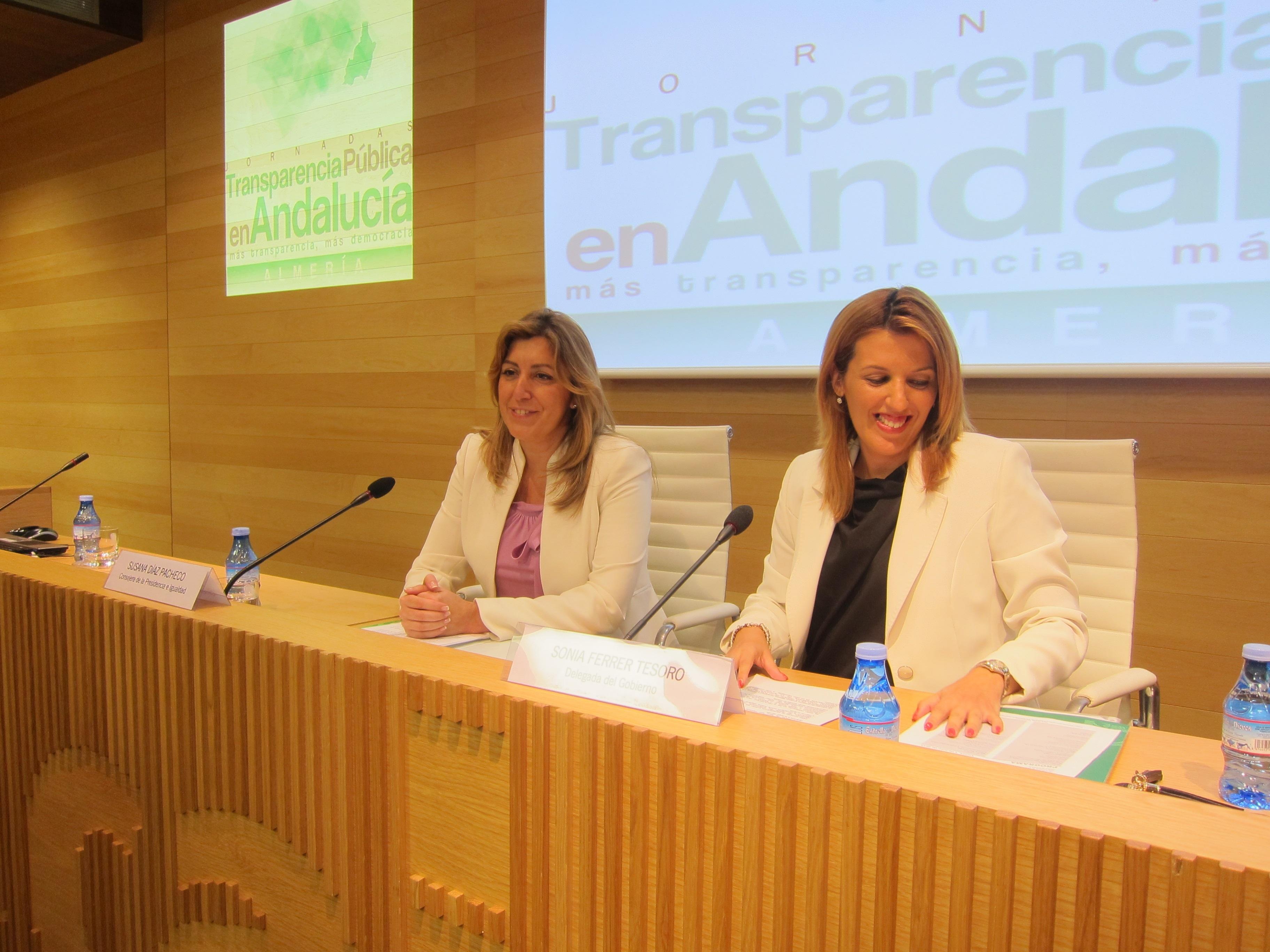 La Junta de Andalucía solicita a entidades y organizaciones sociales informes para participar en la Ley de Transparencia