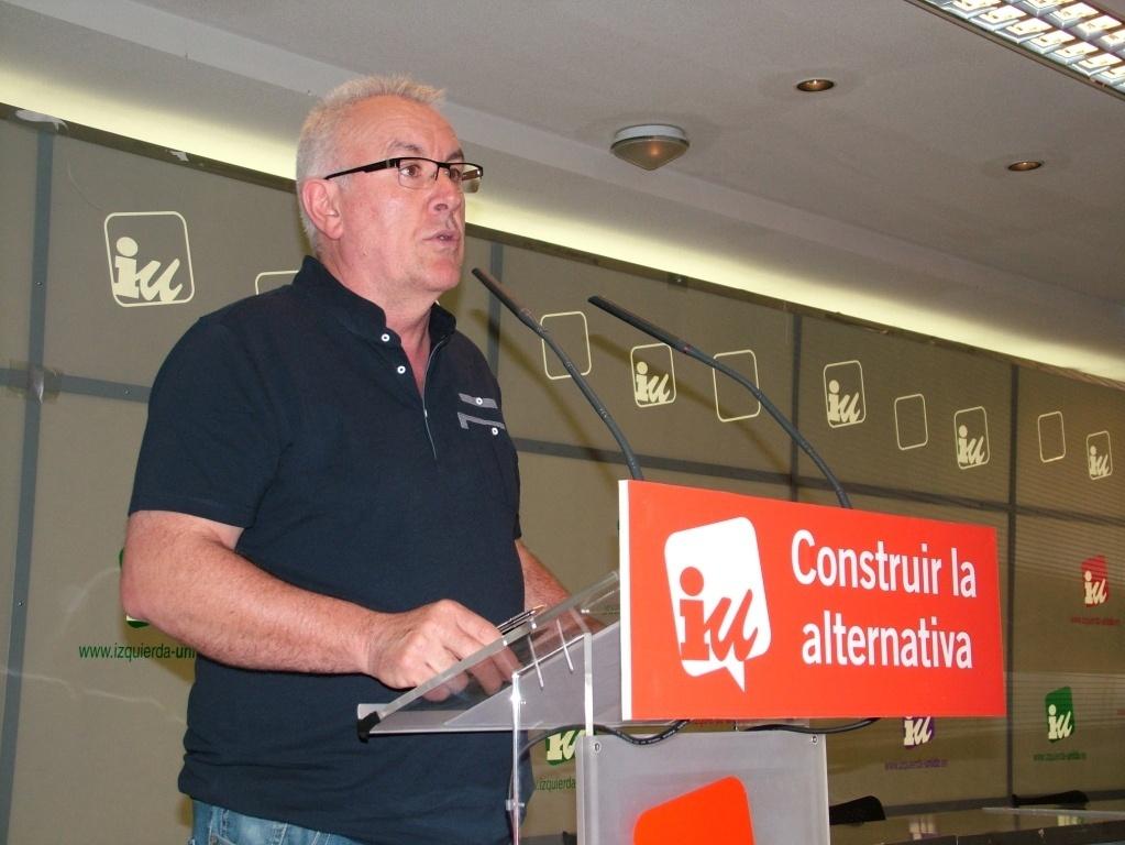 Lara niega que haya una estrategia para apartar a IU del gobierno andaluz y ve con «buena salud» el acuerdo con el PSOE