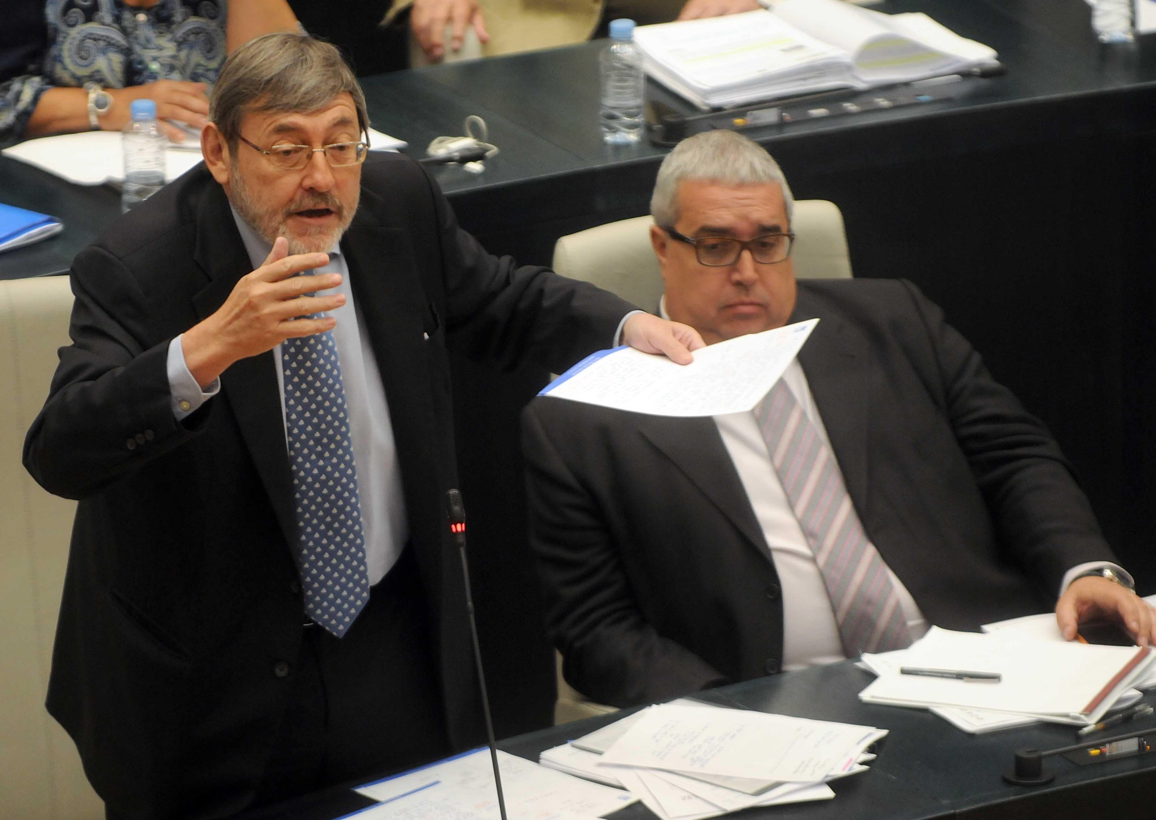Lissavetzky critica la entrada en vigor del copago en el servicio de teleasistencia a personas mayores