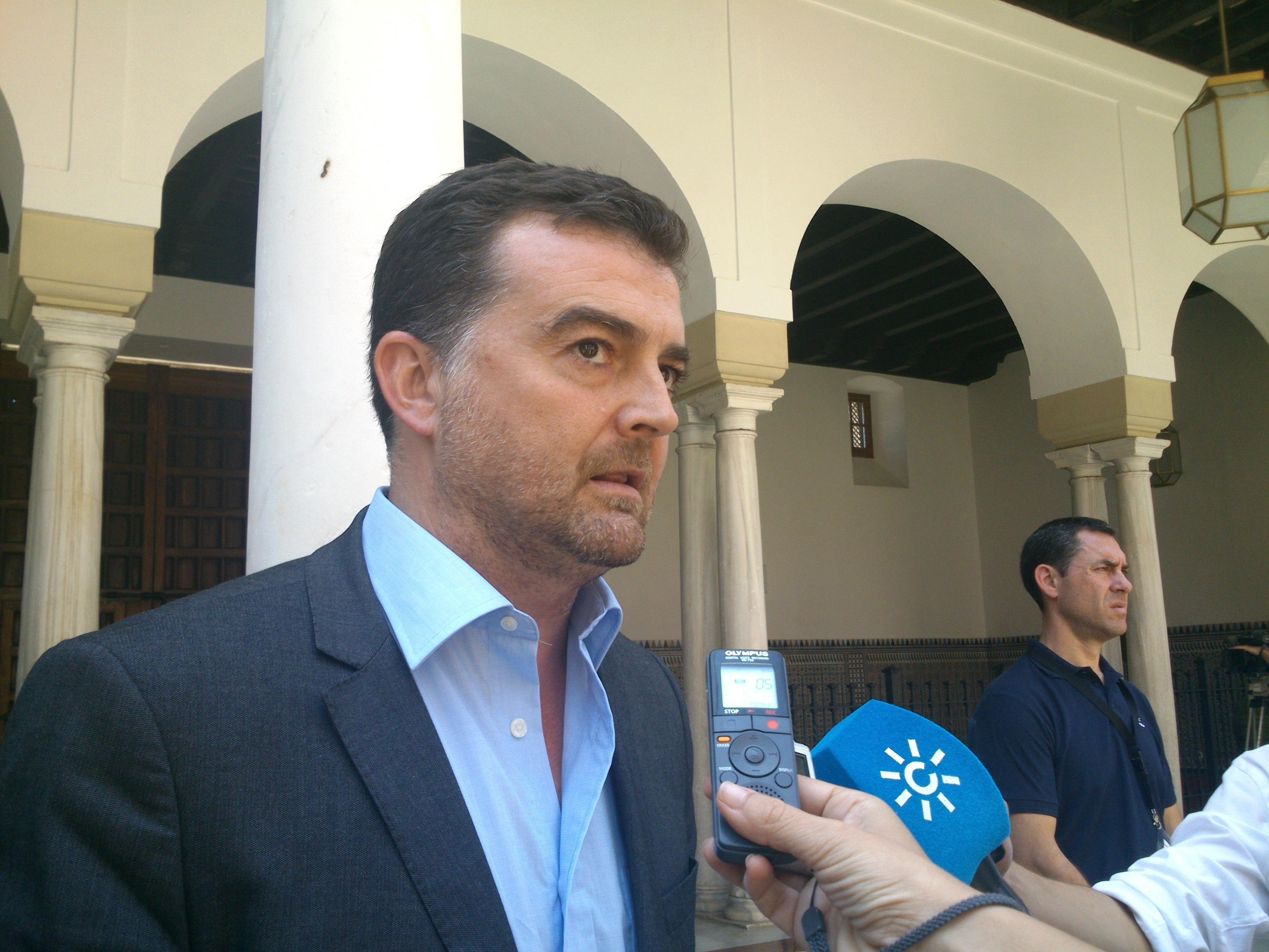 Maíllo confía en que PSOE-A garantice «la misma estabilidad» que IULV-CA ha dado al Gobierno andaluz