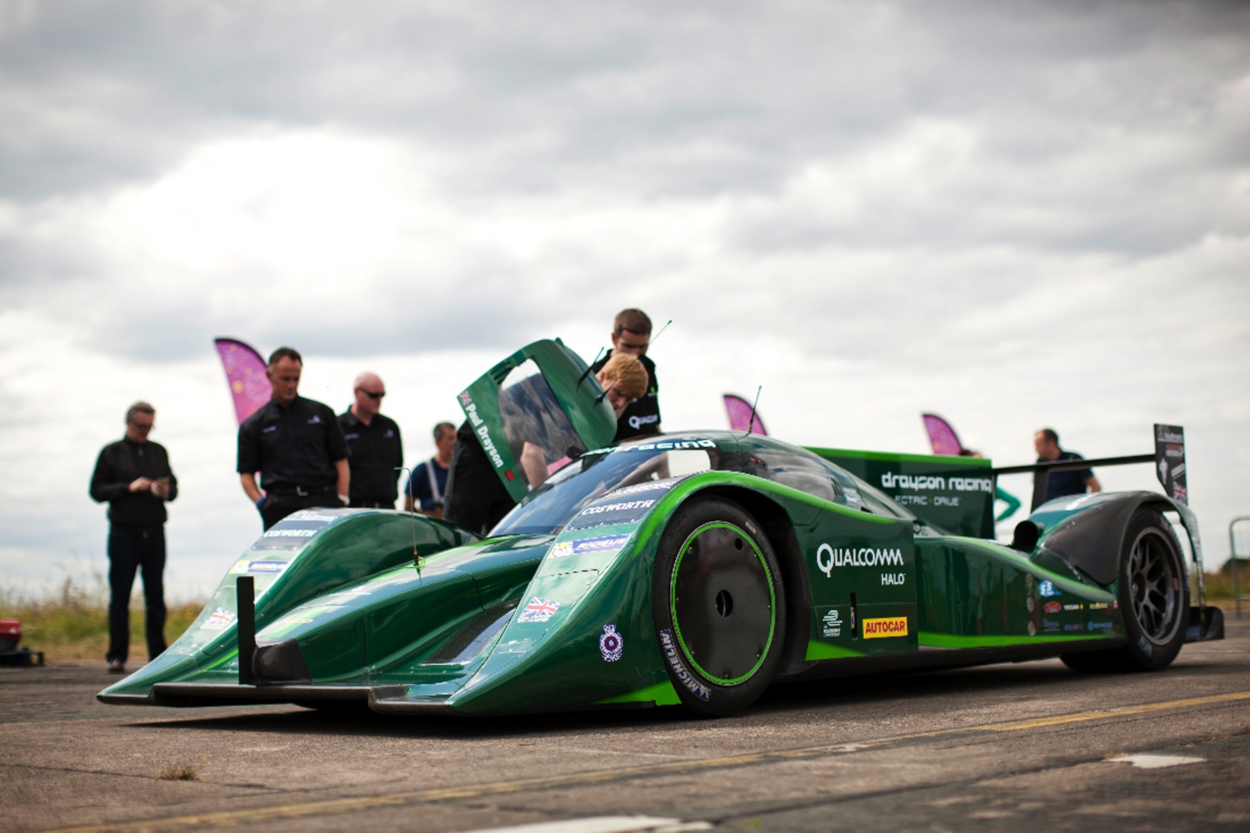 Michelin participa en el récord del mundo de velocidad de un vehículo eléctrico