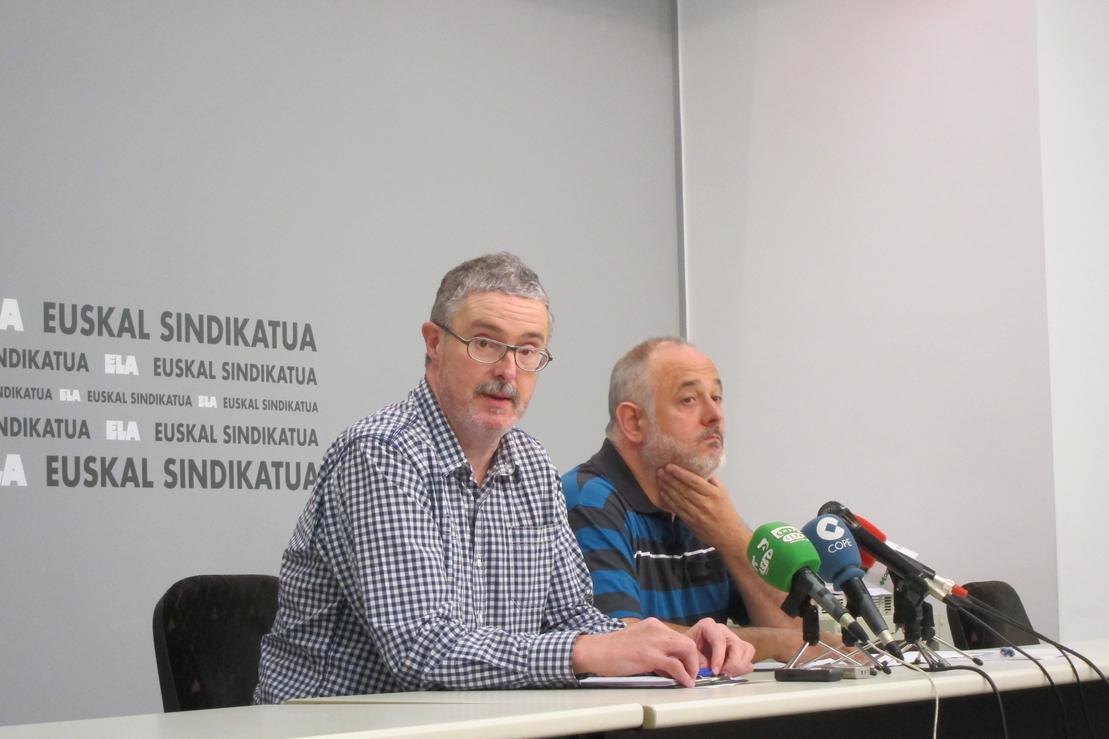 Muñoz (ELA) llama a la movilización para impedir la «desertización» de la industria naval en Euskadi