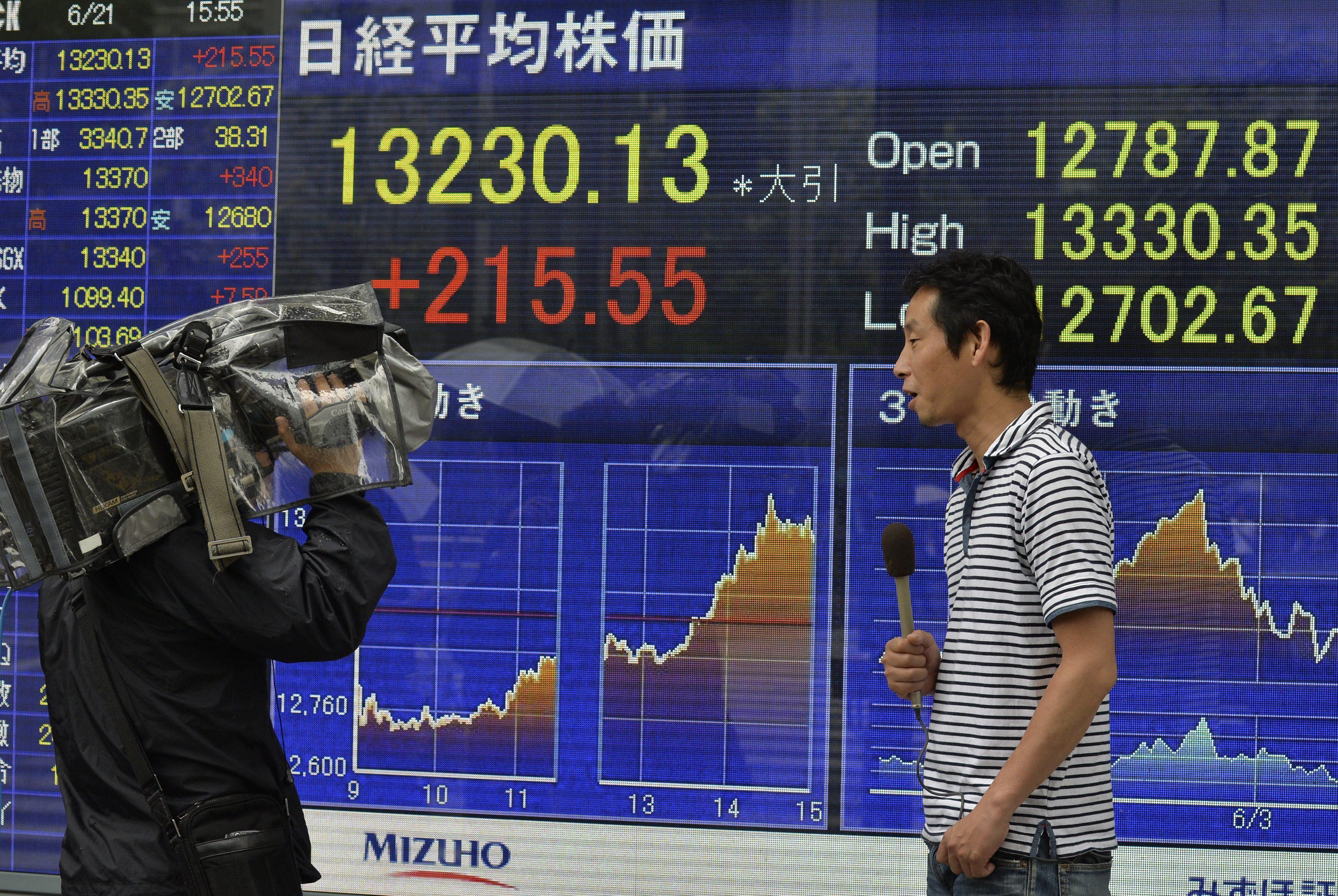 El Nikkei sube un 0,40 por ciento hasta 13.731,40 unidades