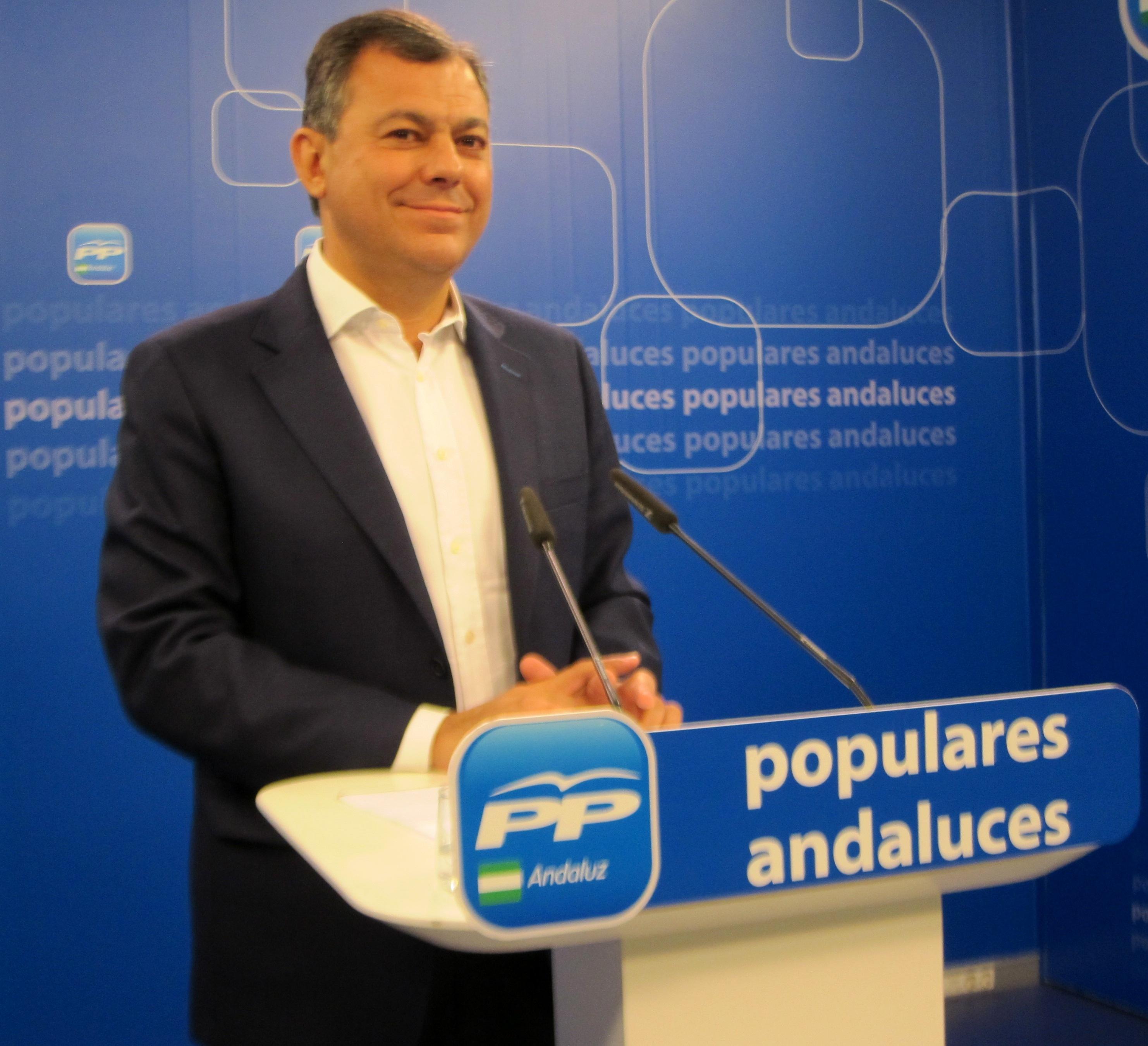 PP-A, «convencido» de que en septiembre u octubre habrá nuevo presidente y de que Griñán «se va por los ERE»