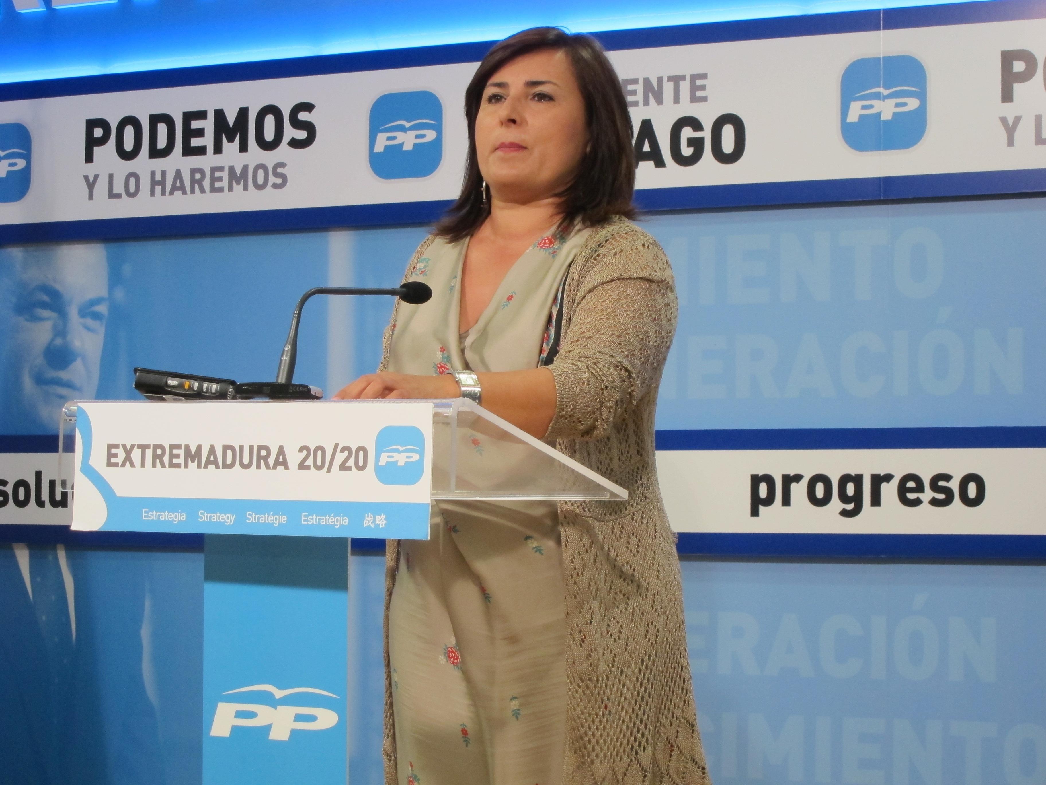 El PP sostiene que el regreso de los vuelos a Badajoz demuestra que «las empresas confían en Extremadura»