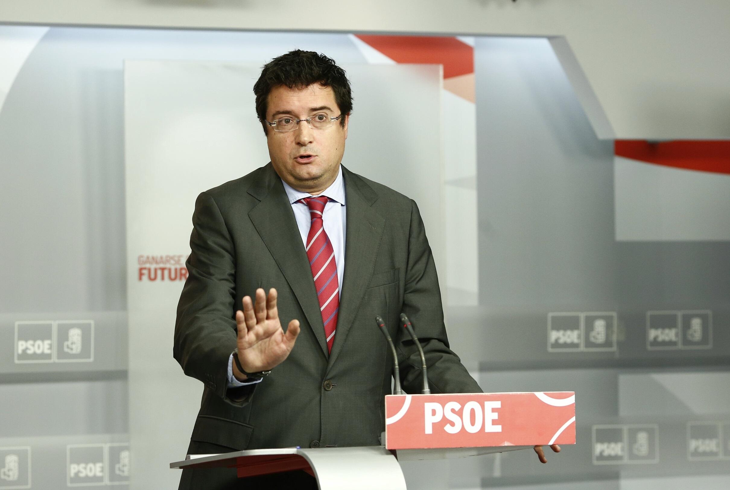 El PSOE compara a Cospedal con Ibarretxe al plantear una reforma estatutaria sin consenso