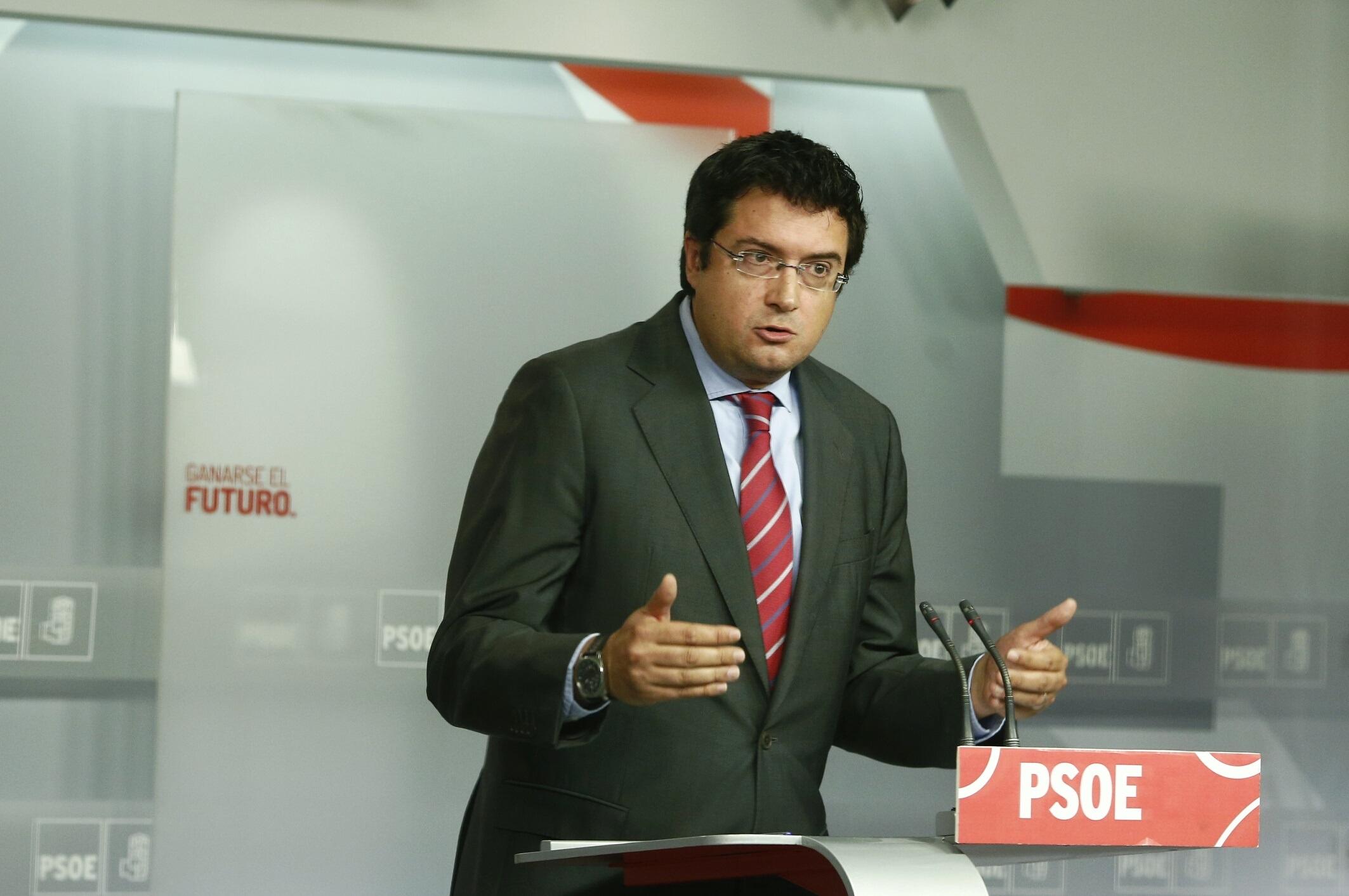 El PSOE exige al PP que deje de «tomar el pelo a los españoles» con Bárcenas