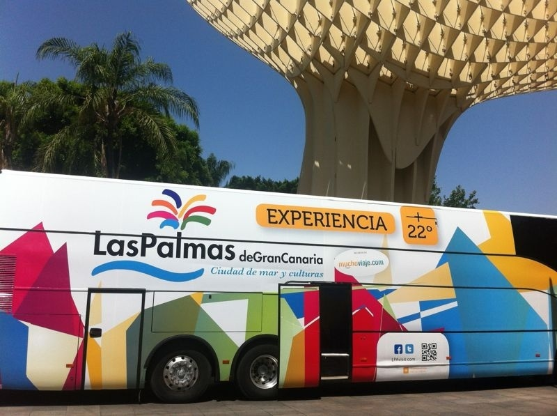 Las Palmas de Gran Canaria ya se promociona por toda Andalucía