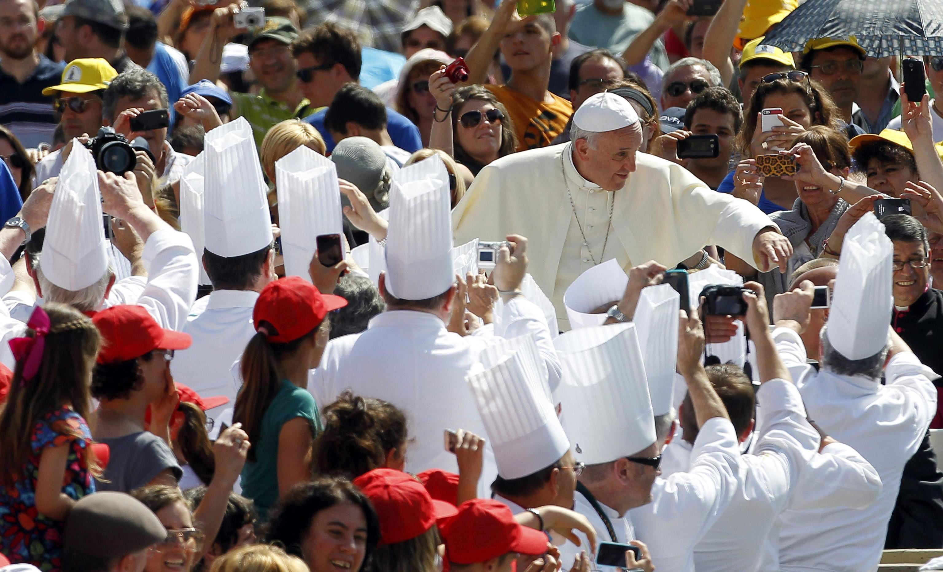 El papa analizó con Iglesias la situación política y social iberoamericana