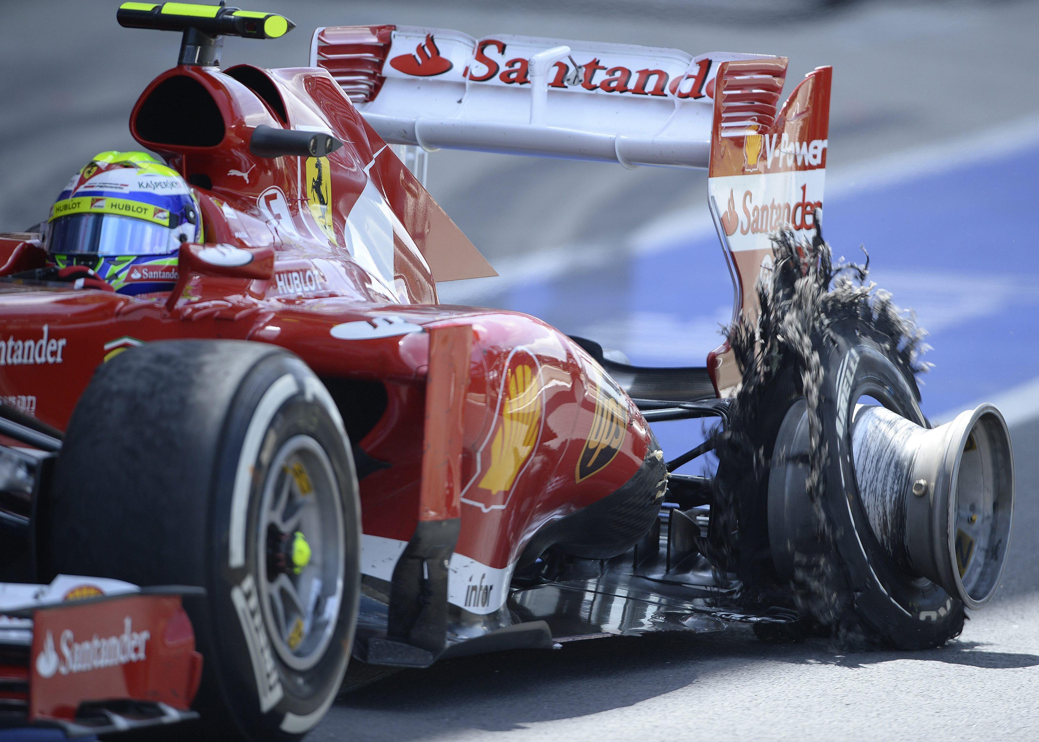Pirelli se convierte en el blanco de todas las críticas tras Silverstone