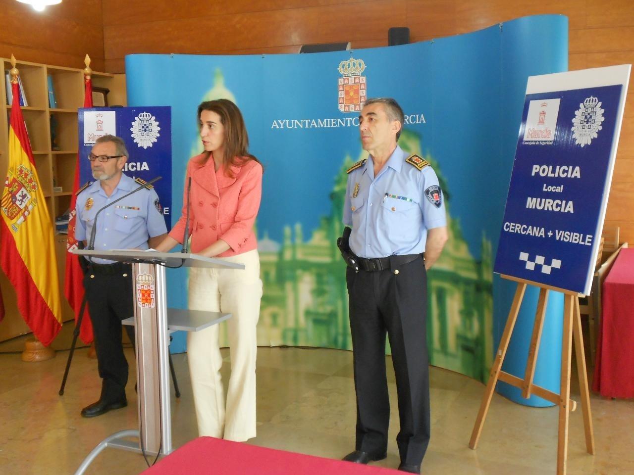 La Policía Local de Murcia pone en marcha un dispositivo especial de vigilancia en verano