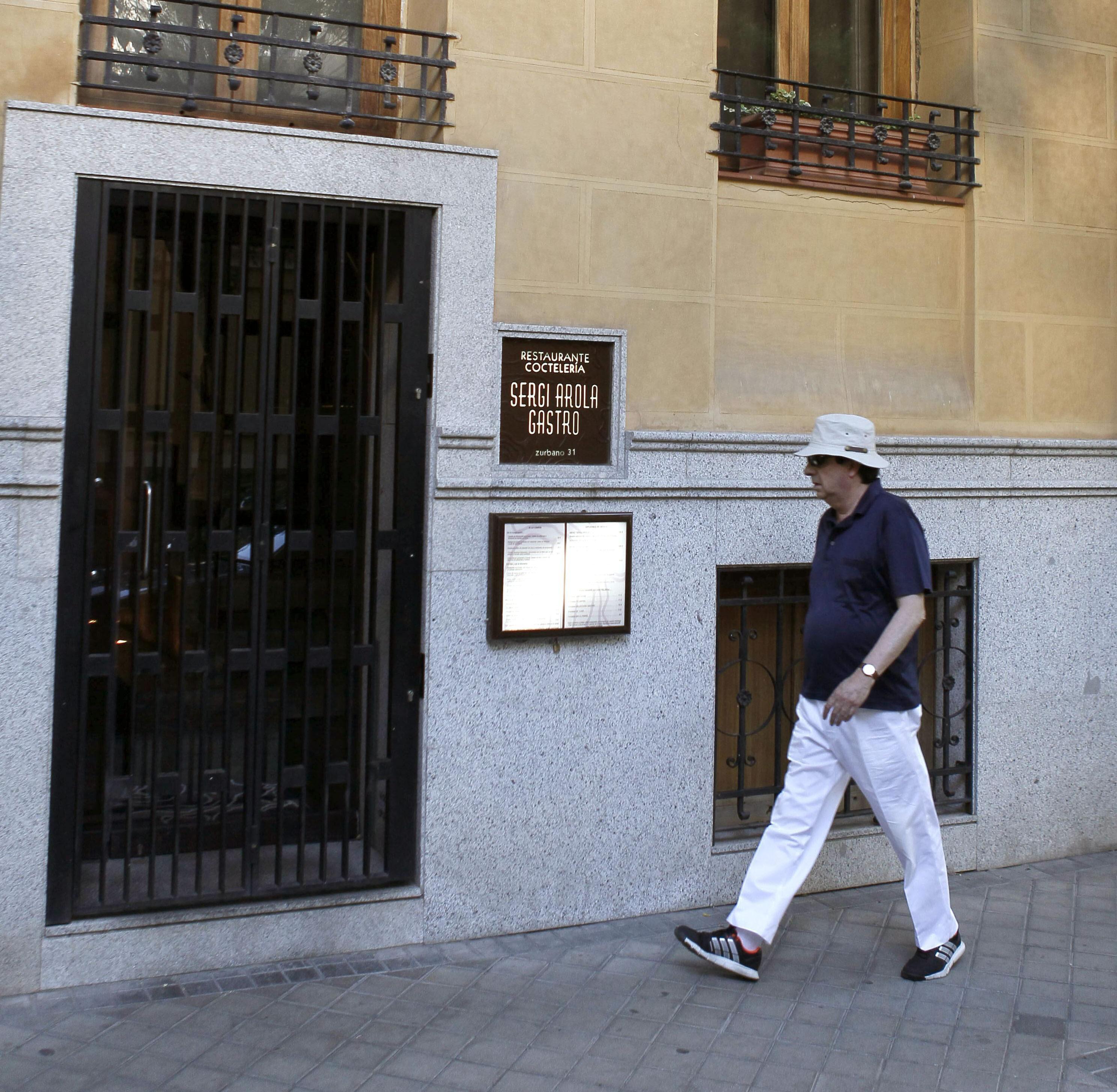 Sergi Arola decidirá con «serenidad» si continúa en Madrid