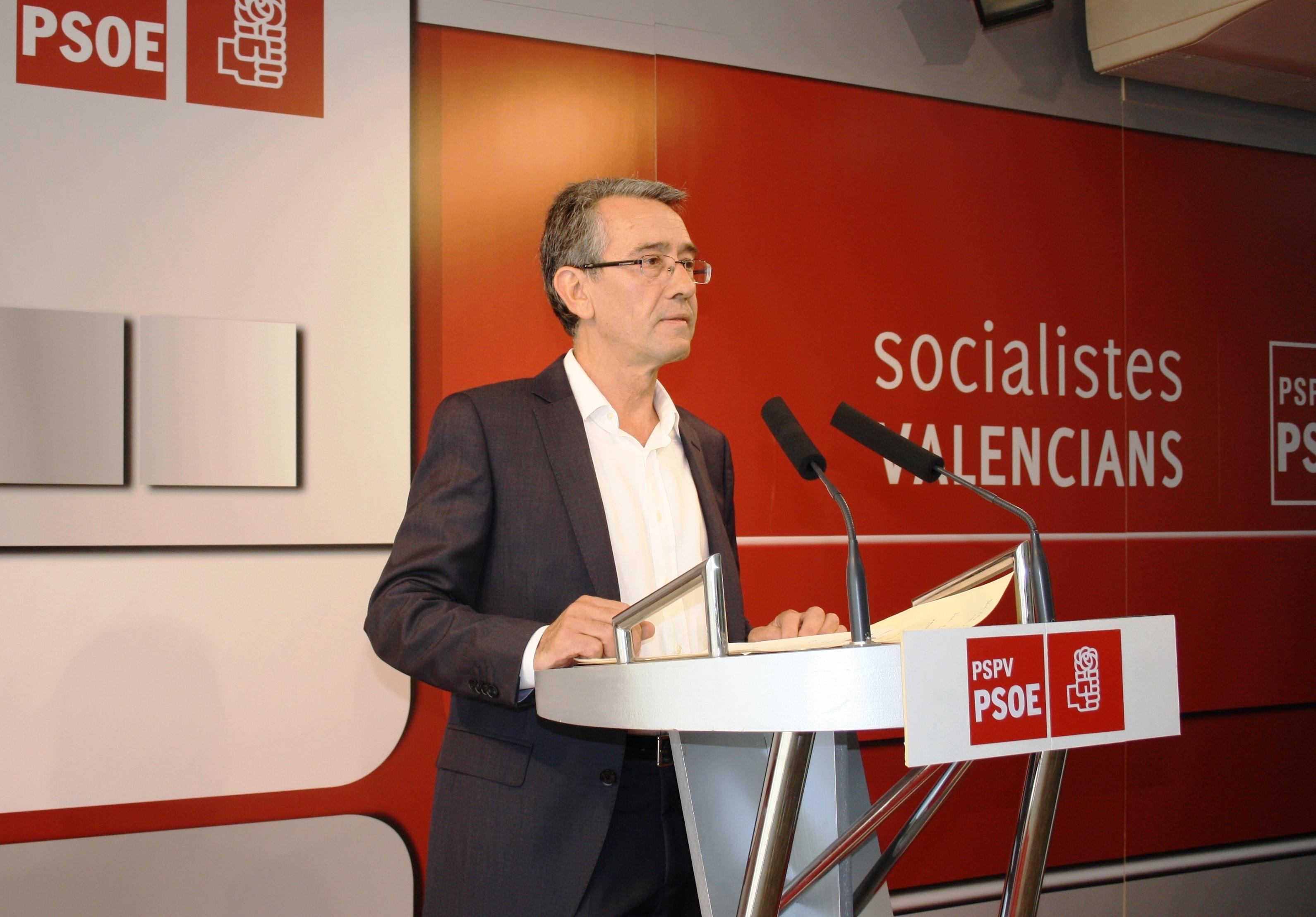 Torres pide a Fabra que «defienda los intereses de los valencianos y no se pliegue ante Rajoy y Montoro»