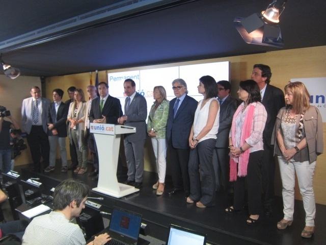 UDC ratifica la continuidad de Duran como secretario general de CiU