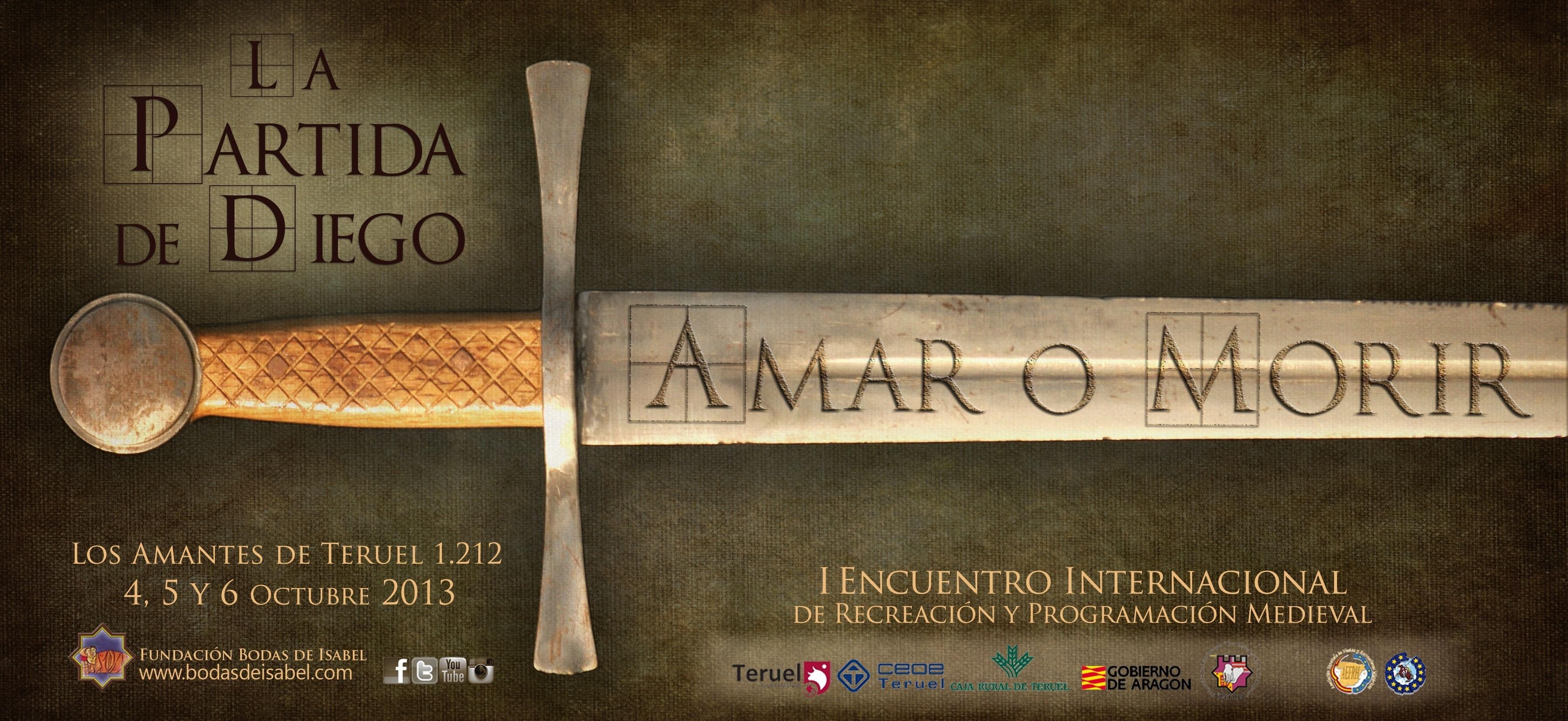 La tercera edición de la Partida de Diego se celebrará del 4 al 6 de octubre