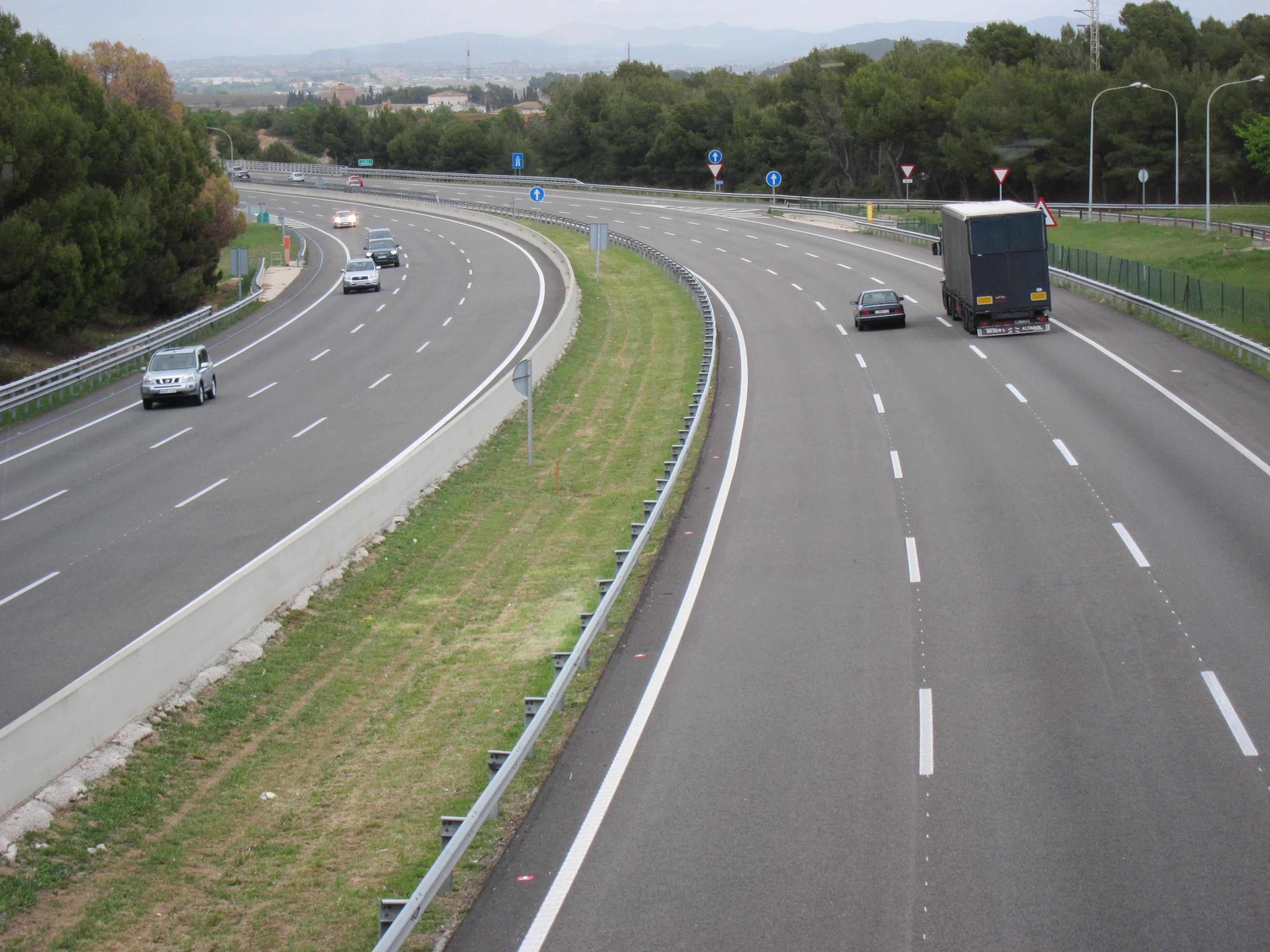 Los muertos en las carreteras catalanas se reducen un 36% el primer semestre