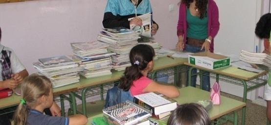Continúa abierto el plazo para entregar libros de texto usados al banco de intercambio