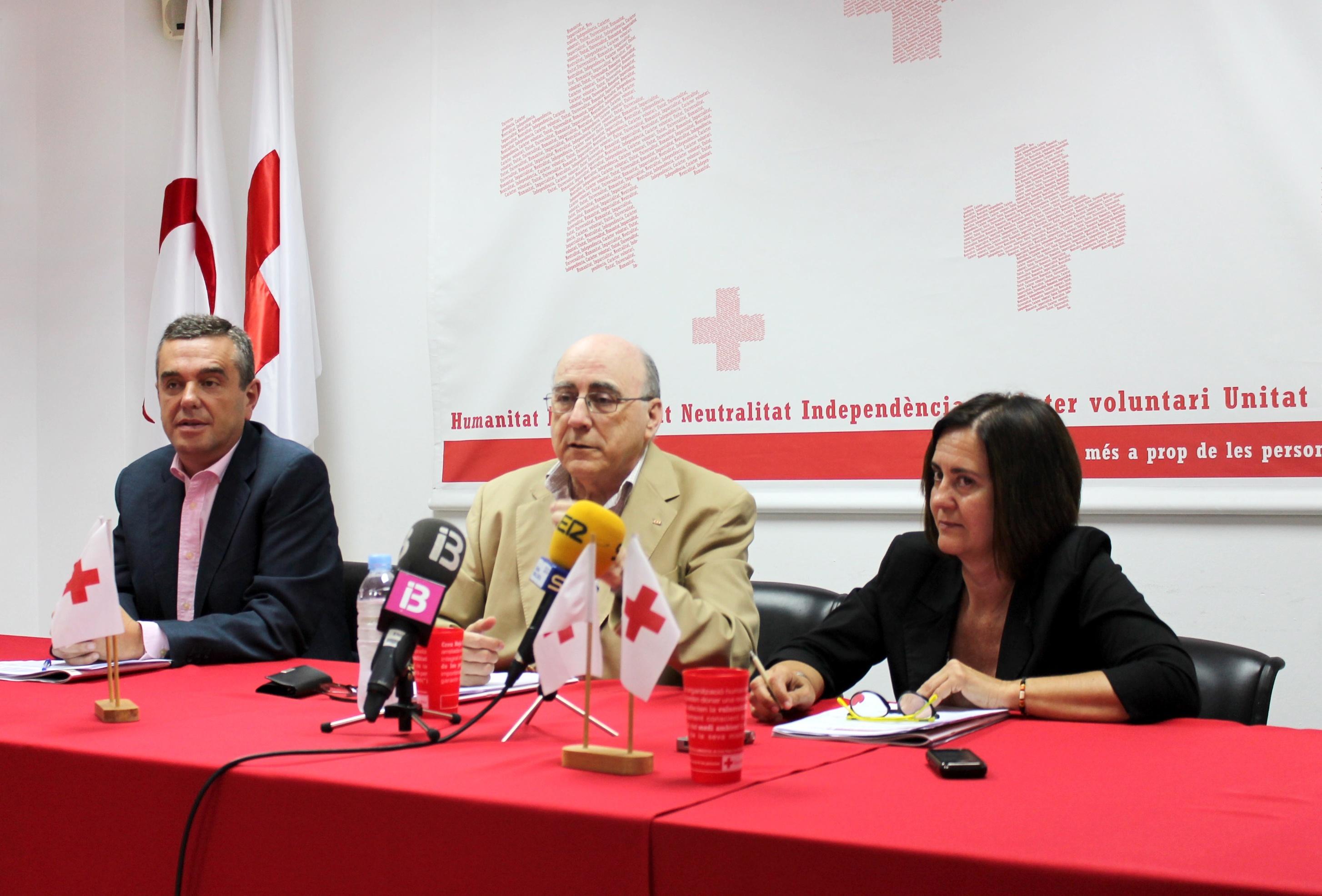 Cruz Roja Baleares alerta del aumento de la precariedad de las personas atendidas debido a la persistencia de la crisis