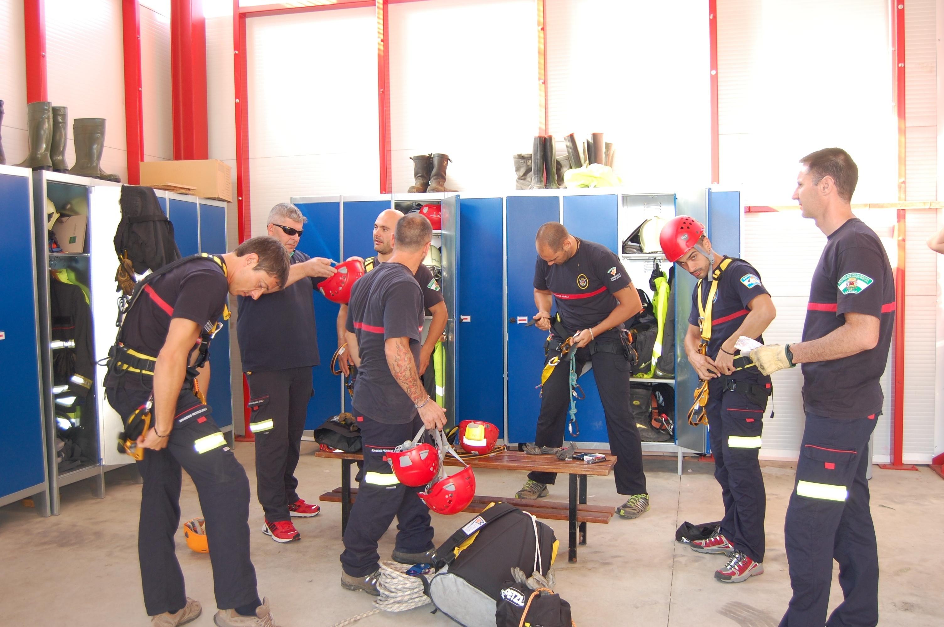 El Centro de Emergencias de Alcalá de Guadaíra acoge el I Encuentro Provincial de Rescate Urbano