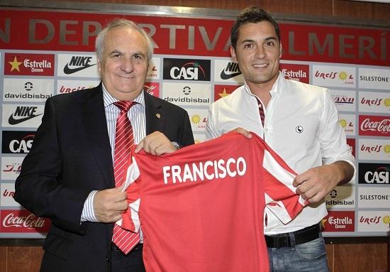 Francisco, el nuevo técnico del Almería, entiende que la gente tenga dudas