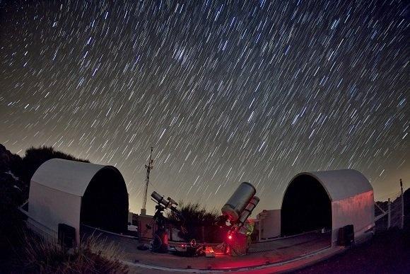 El proyecto Gloria permite operar a los internautas un telescopio del Observatorio del Teide
