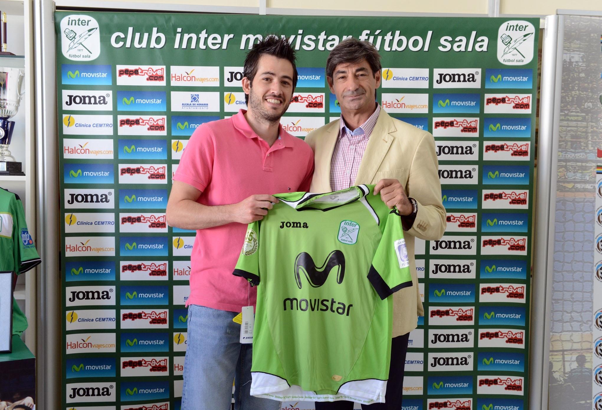 El Inter Movistar amplía el contrato de Rafael hasta 2015