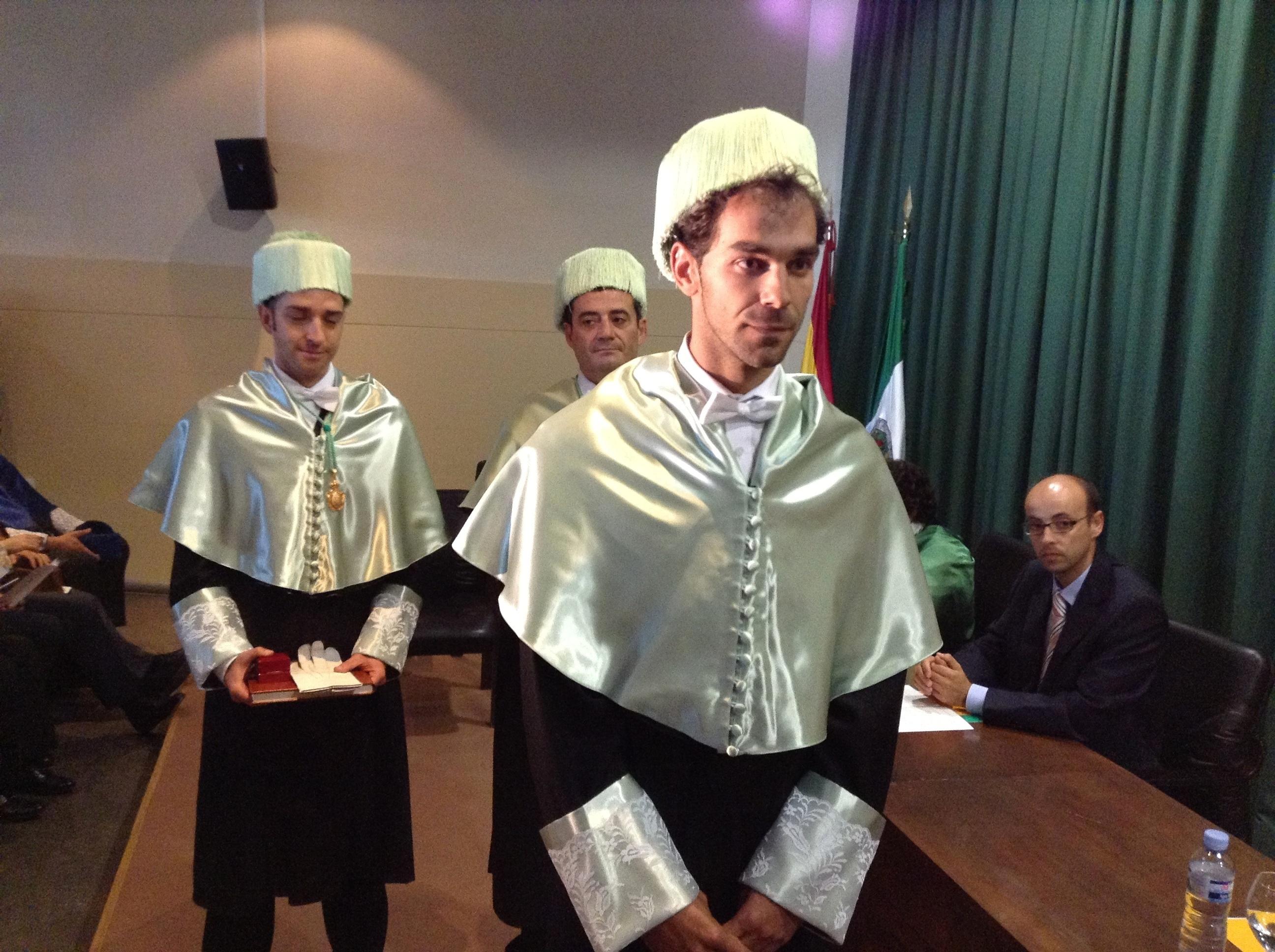 José Manuel Calderón destaca en su investidura como Doctor Honoris Causa de la UEx que con «esfuerzo» todo se consigue