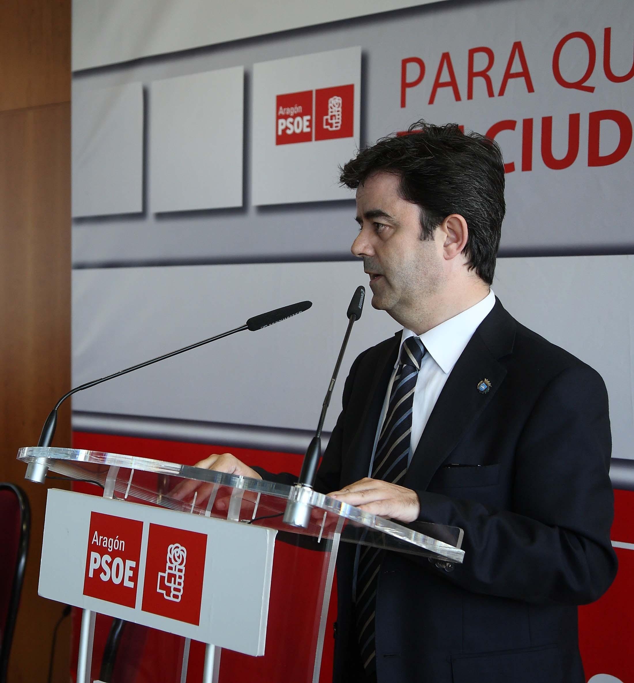 El PSOE de Huesca critica las «prisas e improvisación» del PP en el proyecto de peatonalización del Coso Bajo