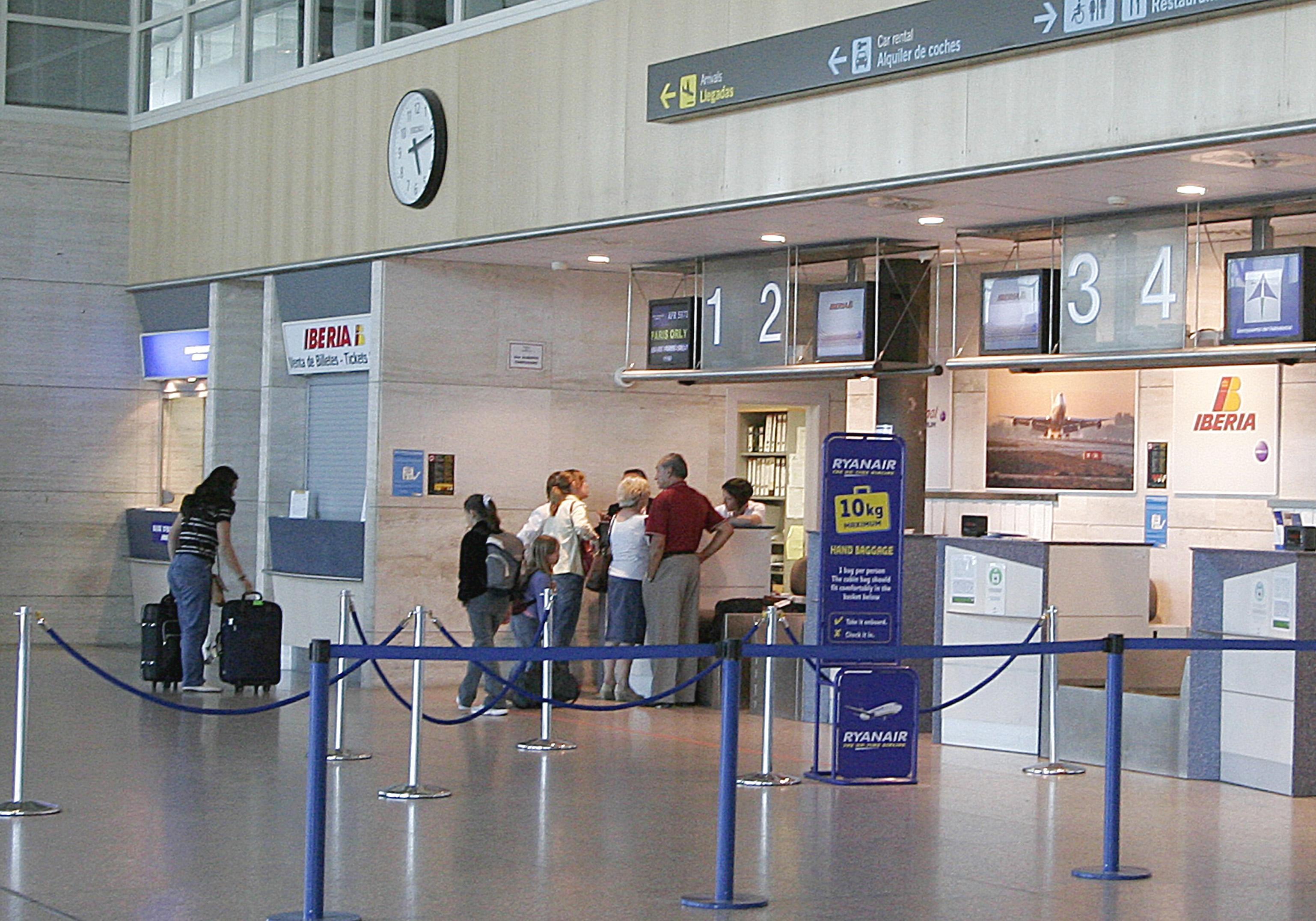 El Aeropuerto de Valladolid contará durante el verano con diez vuelos semanales a Palma de Mallorca
