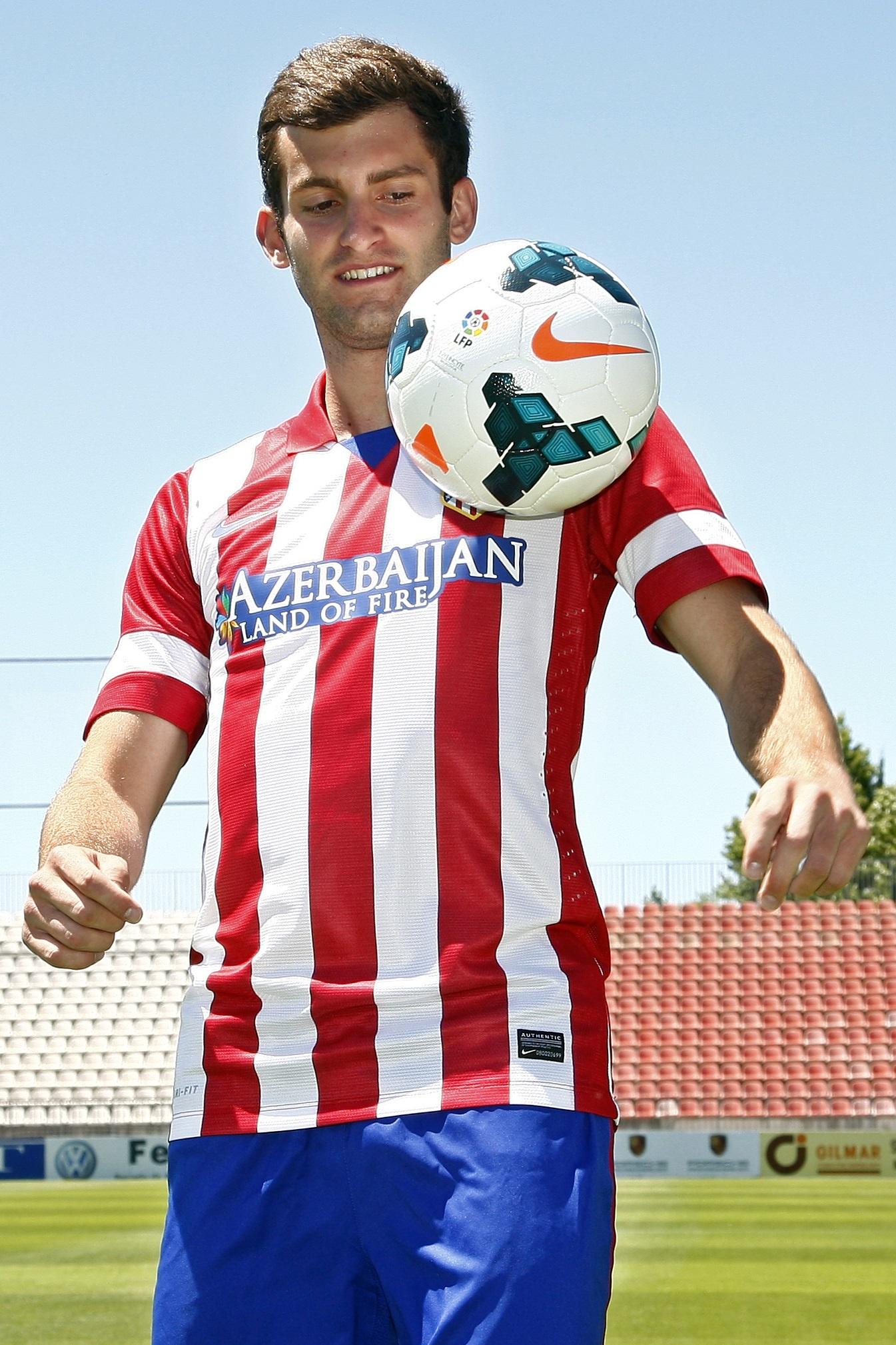 Baptistao (Atlético): «Mi sueño de jugar en un club grande se acaba de hacer realidad»