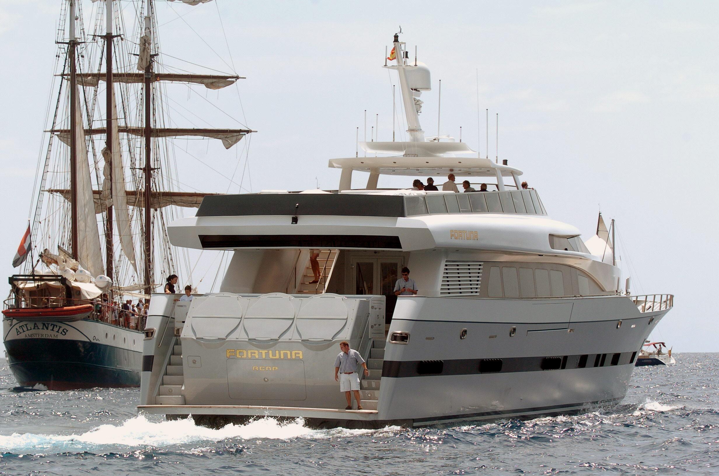 El yate «Fortuna» vuelve a manos de los empresarios que lo donaron al Rey