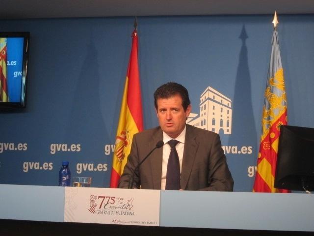 Los altos cargos de la Generalitat Valenciana reducen un 2,02% su sueldo por el exceso de déficit en 2012