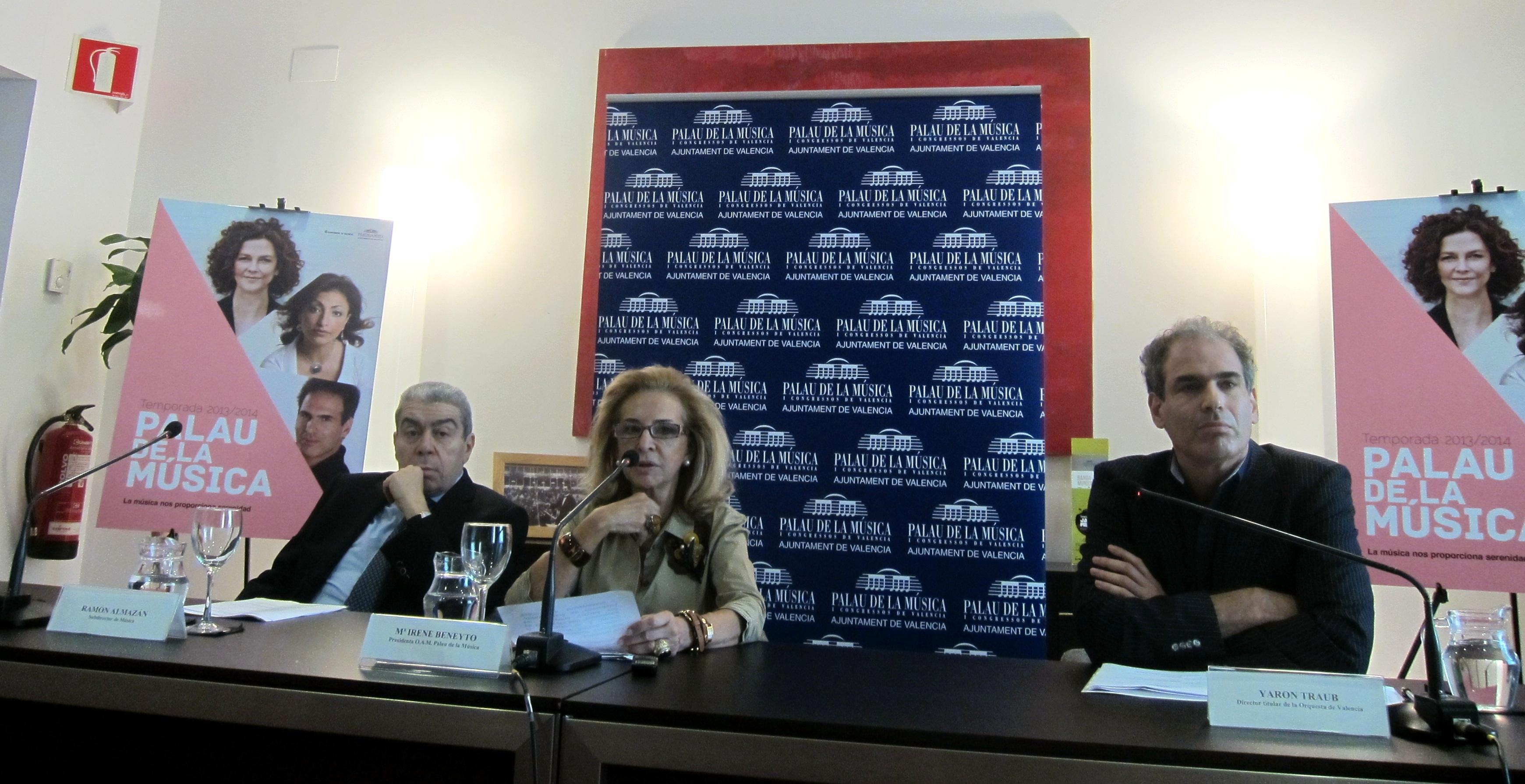 Lang Lang y Gergiev centran la temporada 2013-14 del Palau de la Música de Valencia