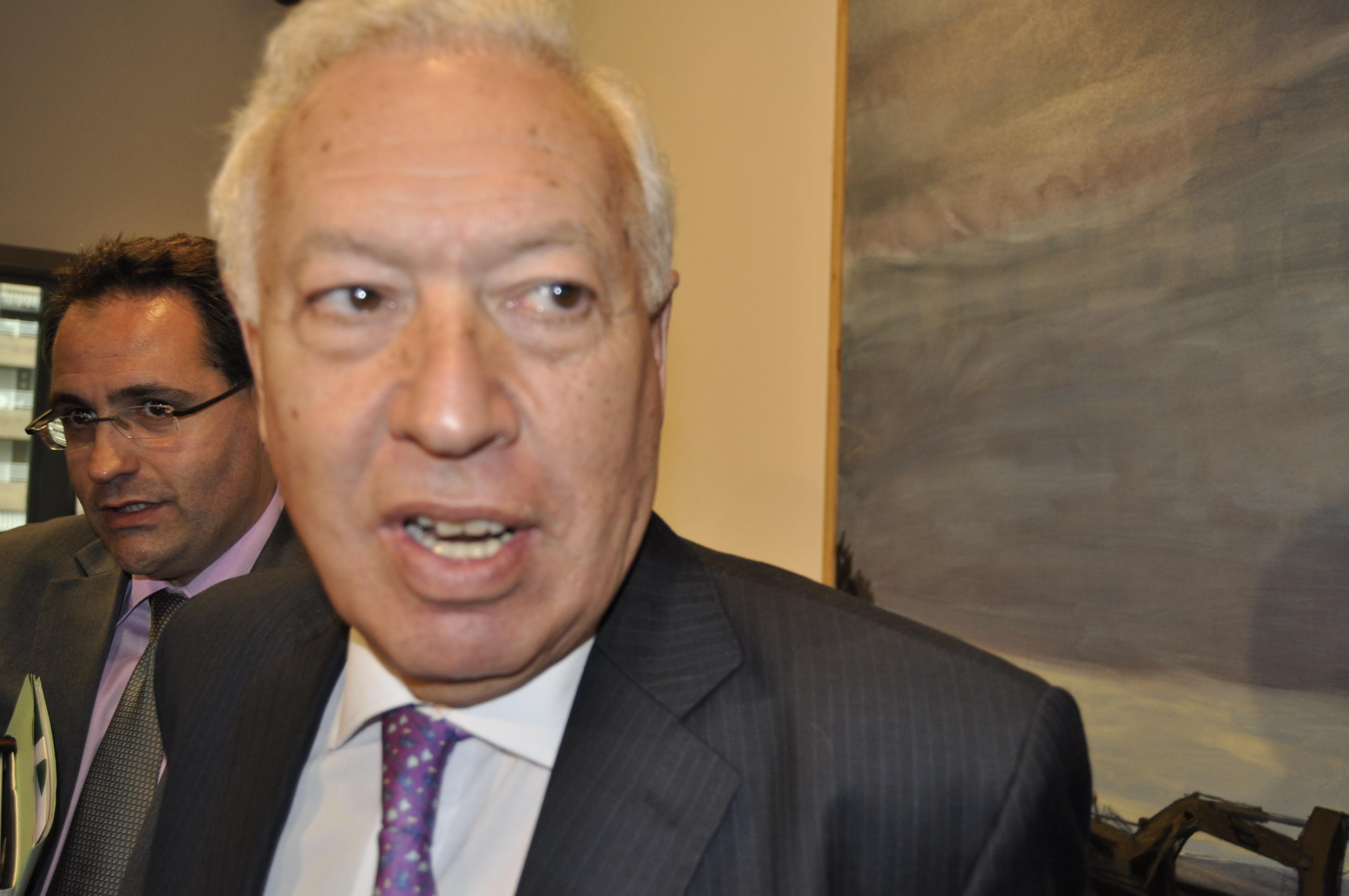 Margallo ve a UNASUR mezclando conductas que no son similares, al exigir disculpas a Francia, Portugal, Italia y España
