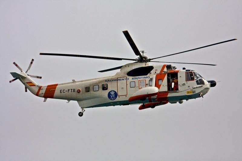 Salvamento Marítimo evacua a un tripulante herido de un buque que se encontraba a 60 millas de Gran Canaria