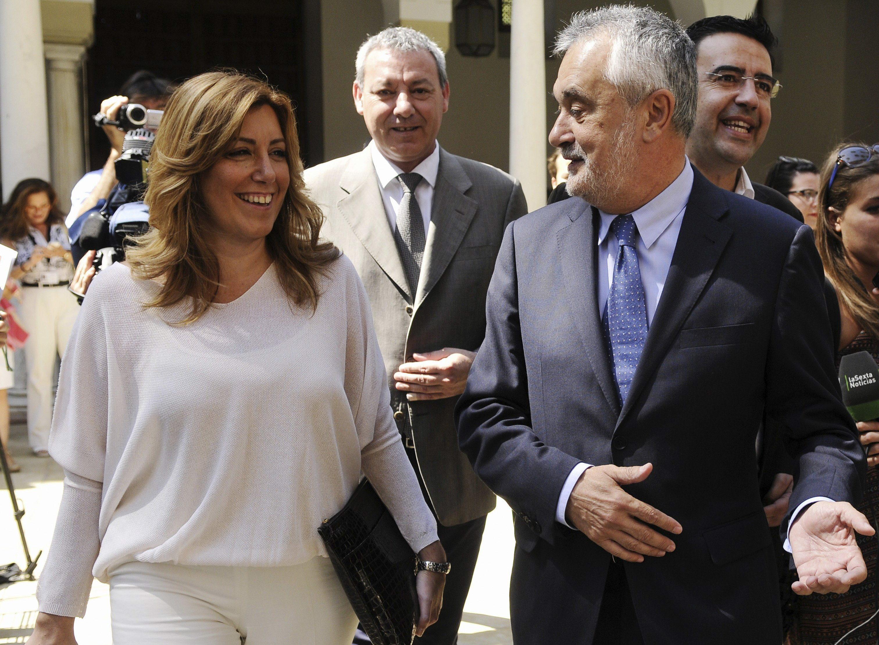 Susana Díaz arremete contra la juez Alaya en su primera entrevista como candidata a suceder a Griñán