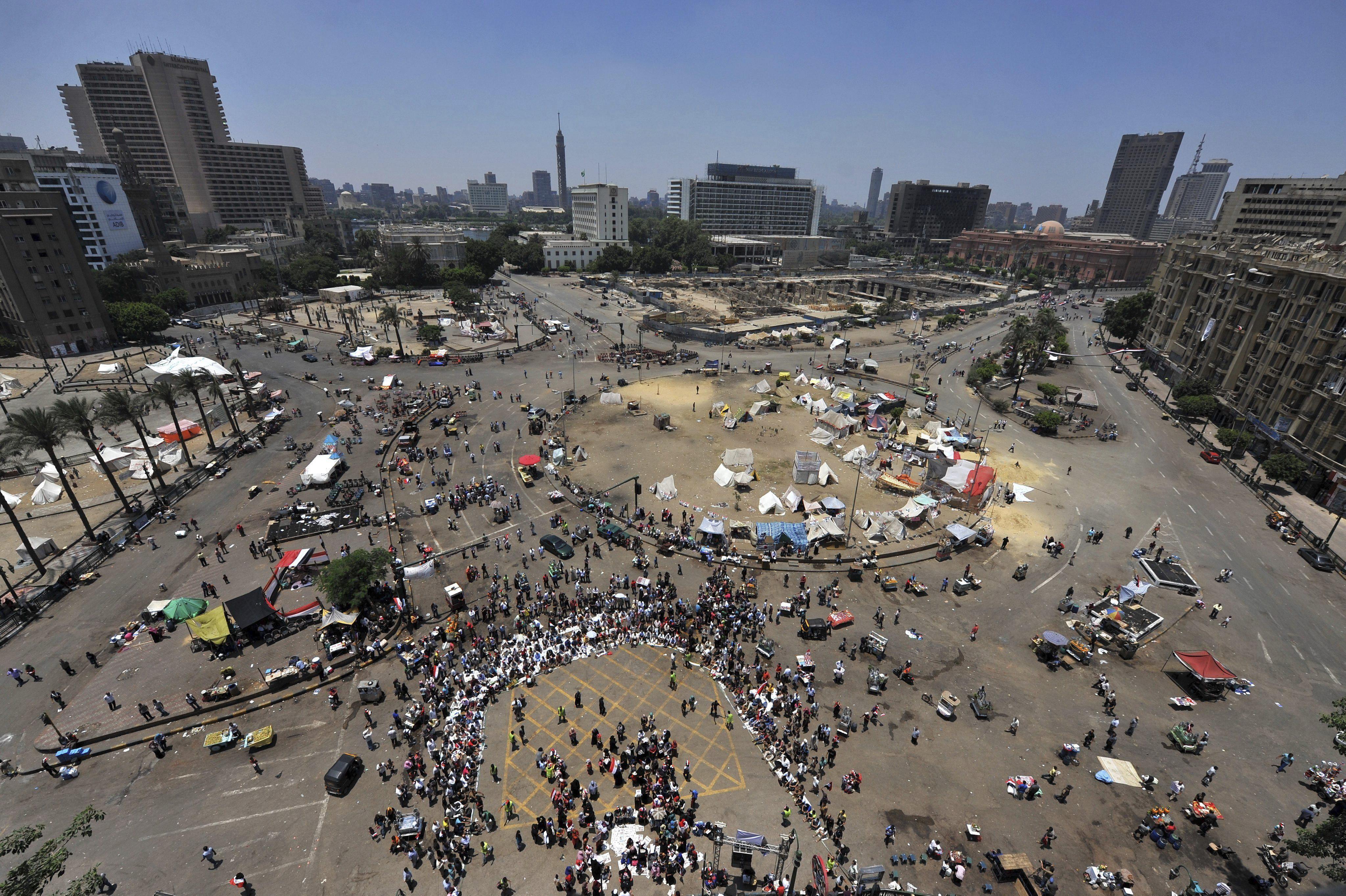 El presidente interino de Egipto disuelve la Cámara alta del Parlamento