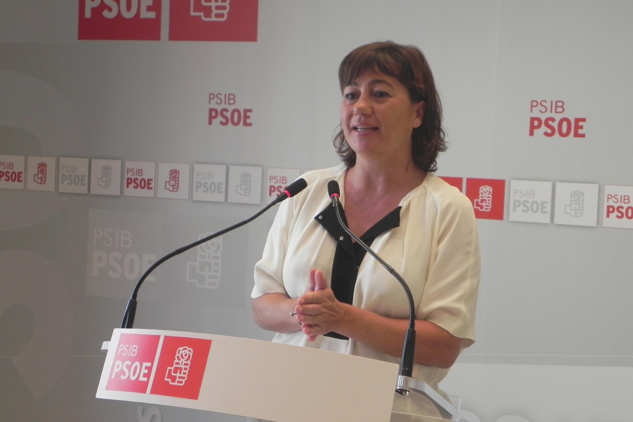 Armengol, satisfecha de la decisión del TSJIB que «para el disparate» de la construcción del hotel de Sa Ràpita