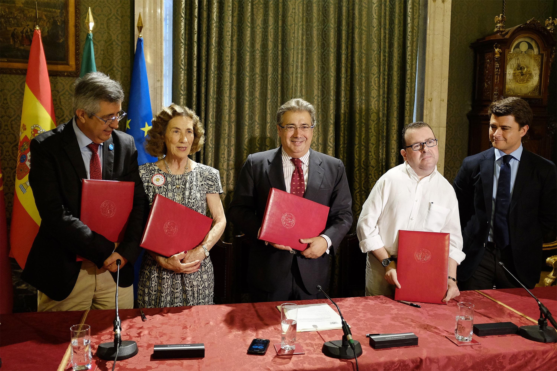 Ayuntamiento aportará 54.000 euros a Unicef, Andex y FAMS para el apoyo de la infancia