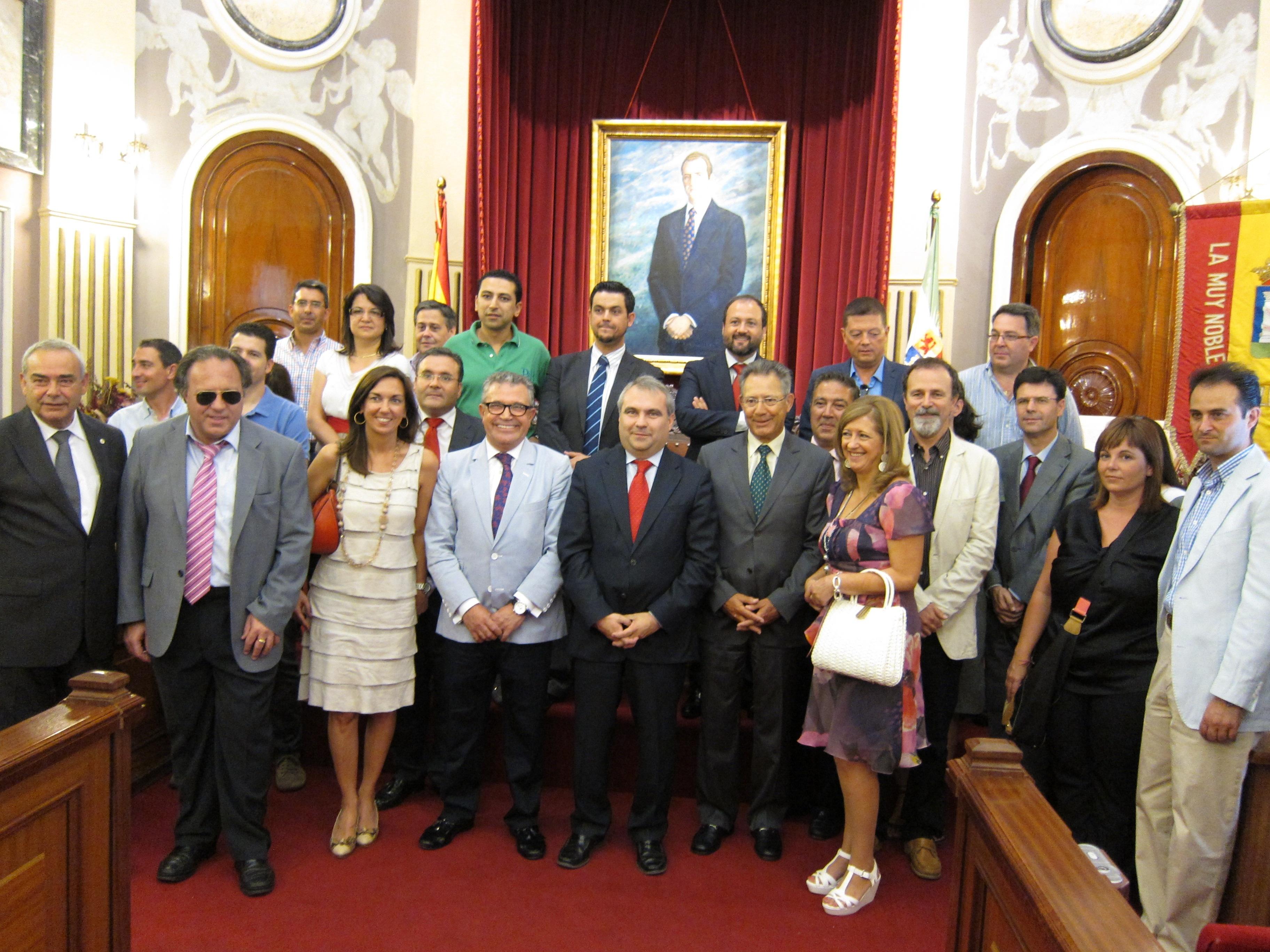 Fragoso recibe con «orgullo» la celebración del Sorteo del Oro de Cruz Roja en Badajoz