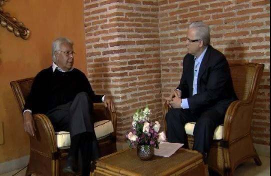Garzón también entrevistó a Felipe González sobre el diálogo con las FARC