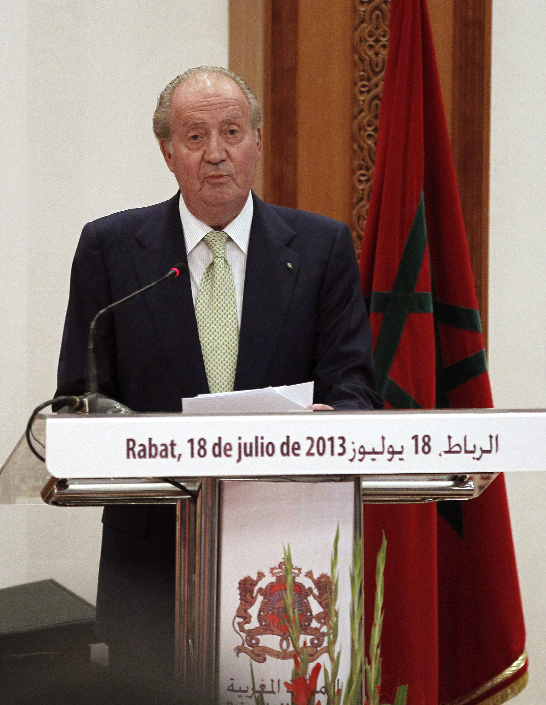 Juan Carlos I dice que su viaje a Marruecos le deja una «huella imborrable»