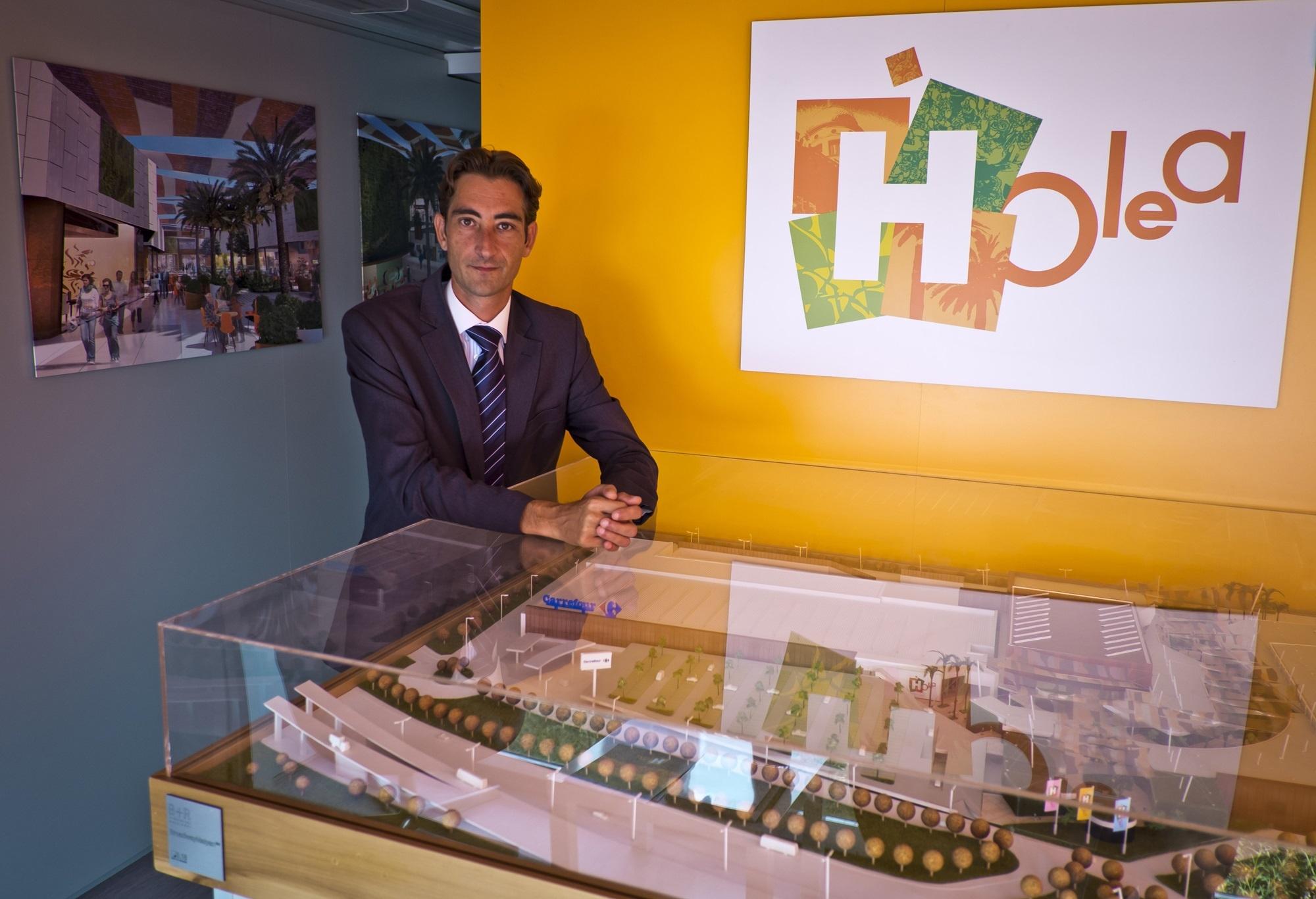 Óscar Llanes, gerente del Centro Comercial Centro Oeste de Majadahonda, dirigirá el Centro Comercial Holea