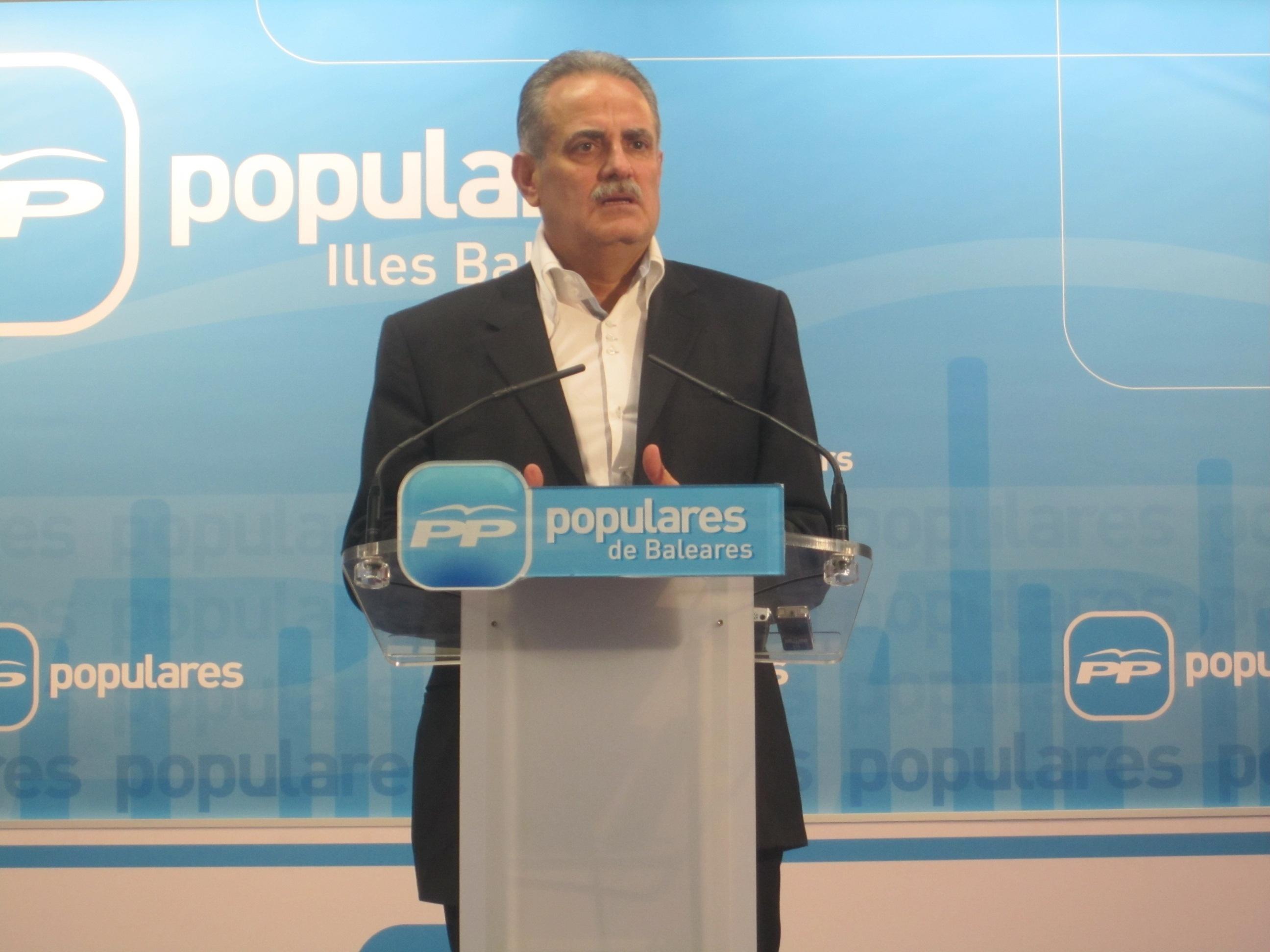 Ramis critica que el PSOE llegue «tarde» y «con unas propuestas que ya han sido conseguidas por el Gobierno del PP»