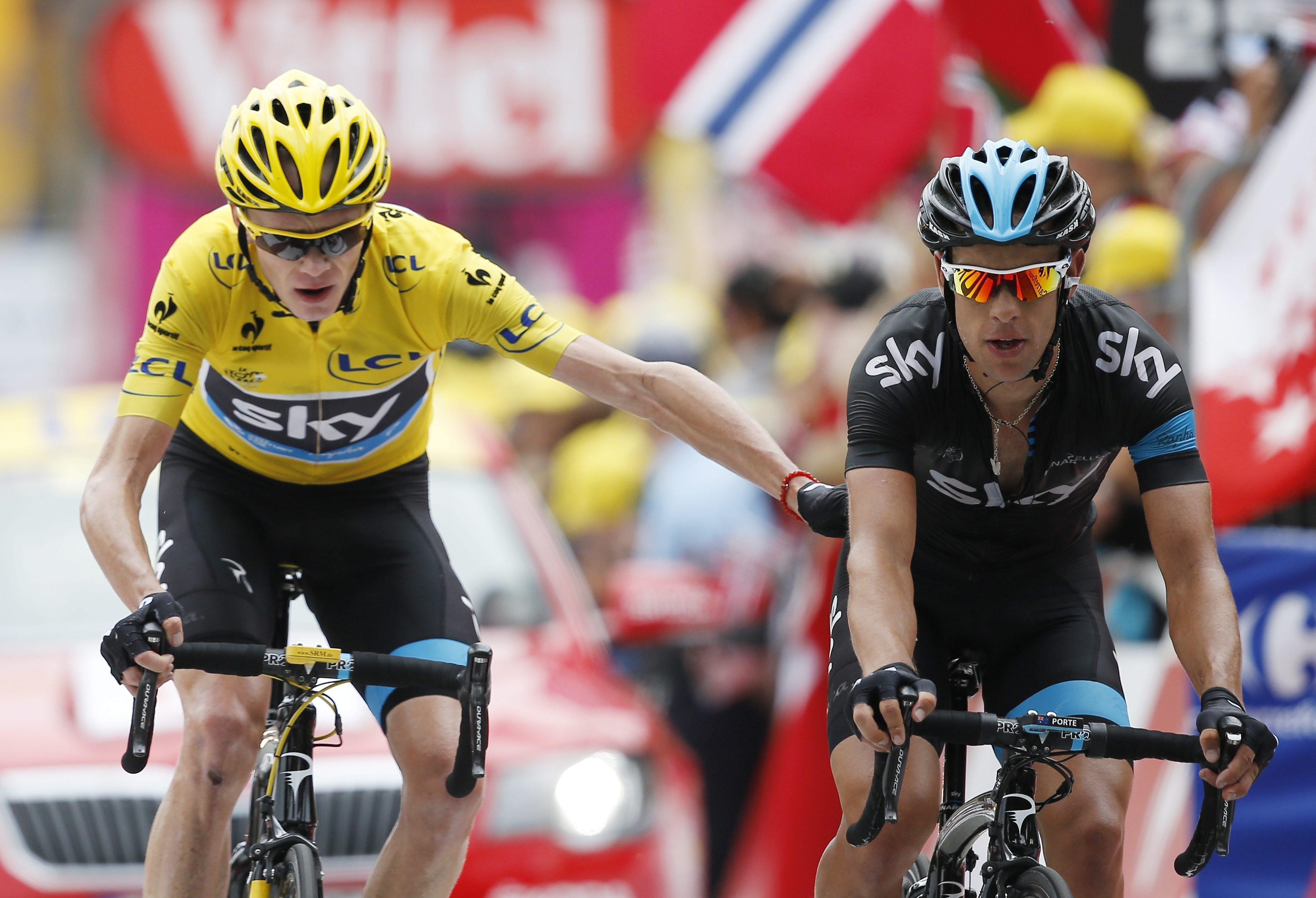 Riblon gana en Alpe d»Huez y Quintana sube al podium