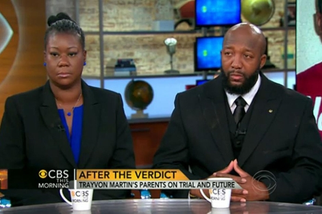 Los padres de Trayvon Martin dicen que si fuera blanco no estaría muerto