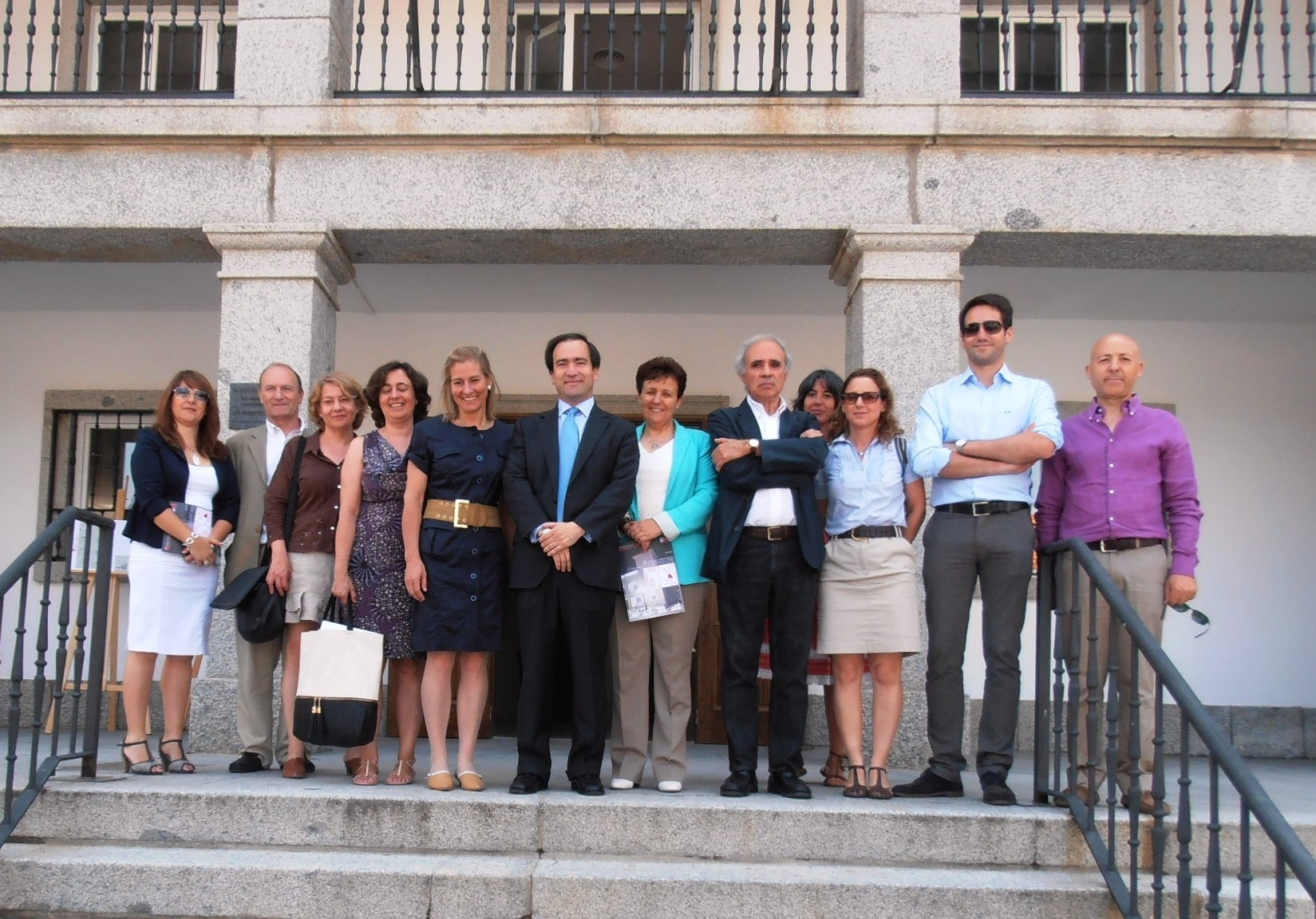 Las obras de rehabilitación del Ayuntamiento concluyen después de la rehabilitación de su capitel