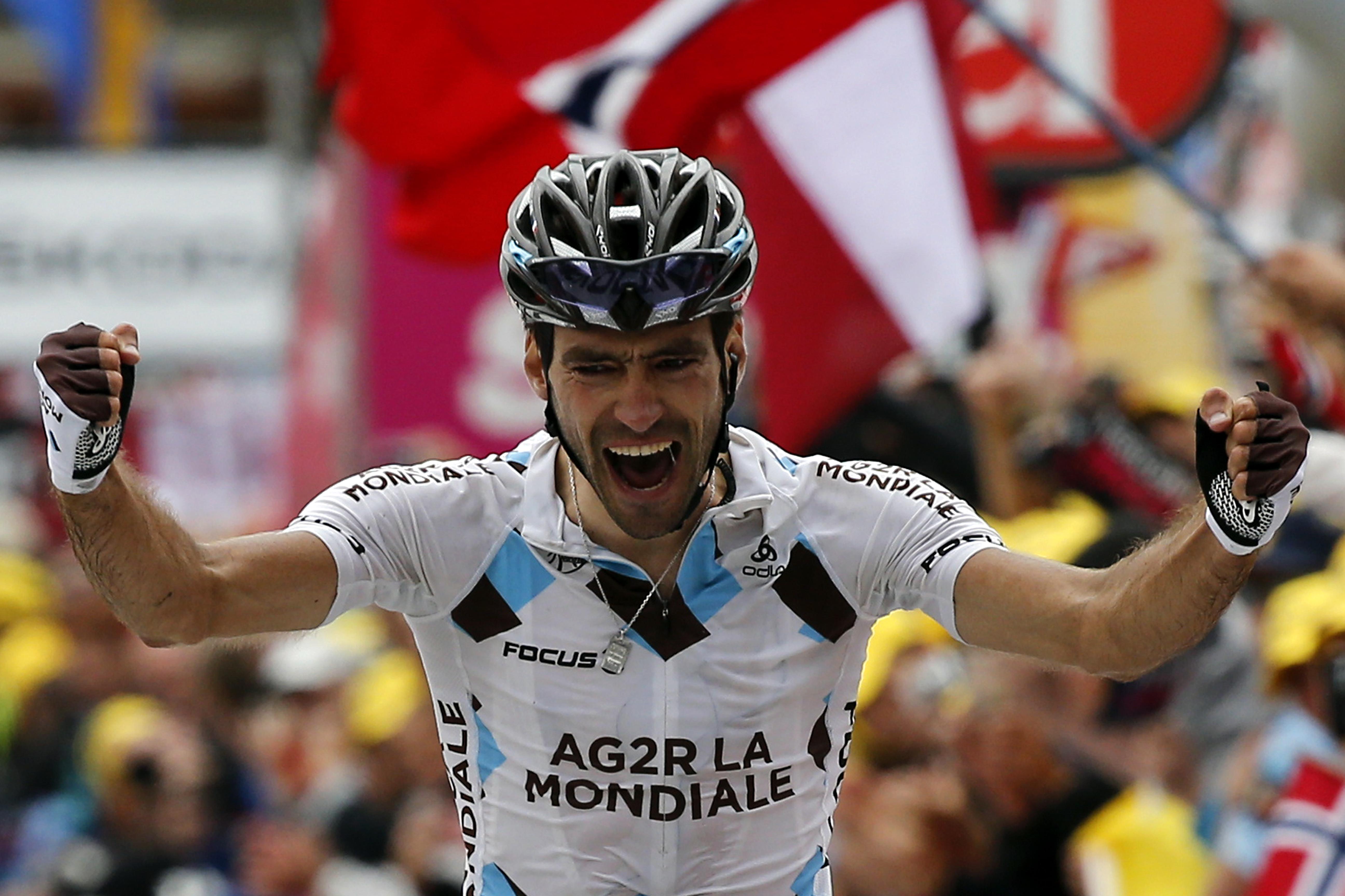 Riblon alcanza la glória y Contador no saca partido de la »pájara» de Froome
