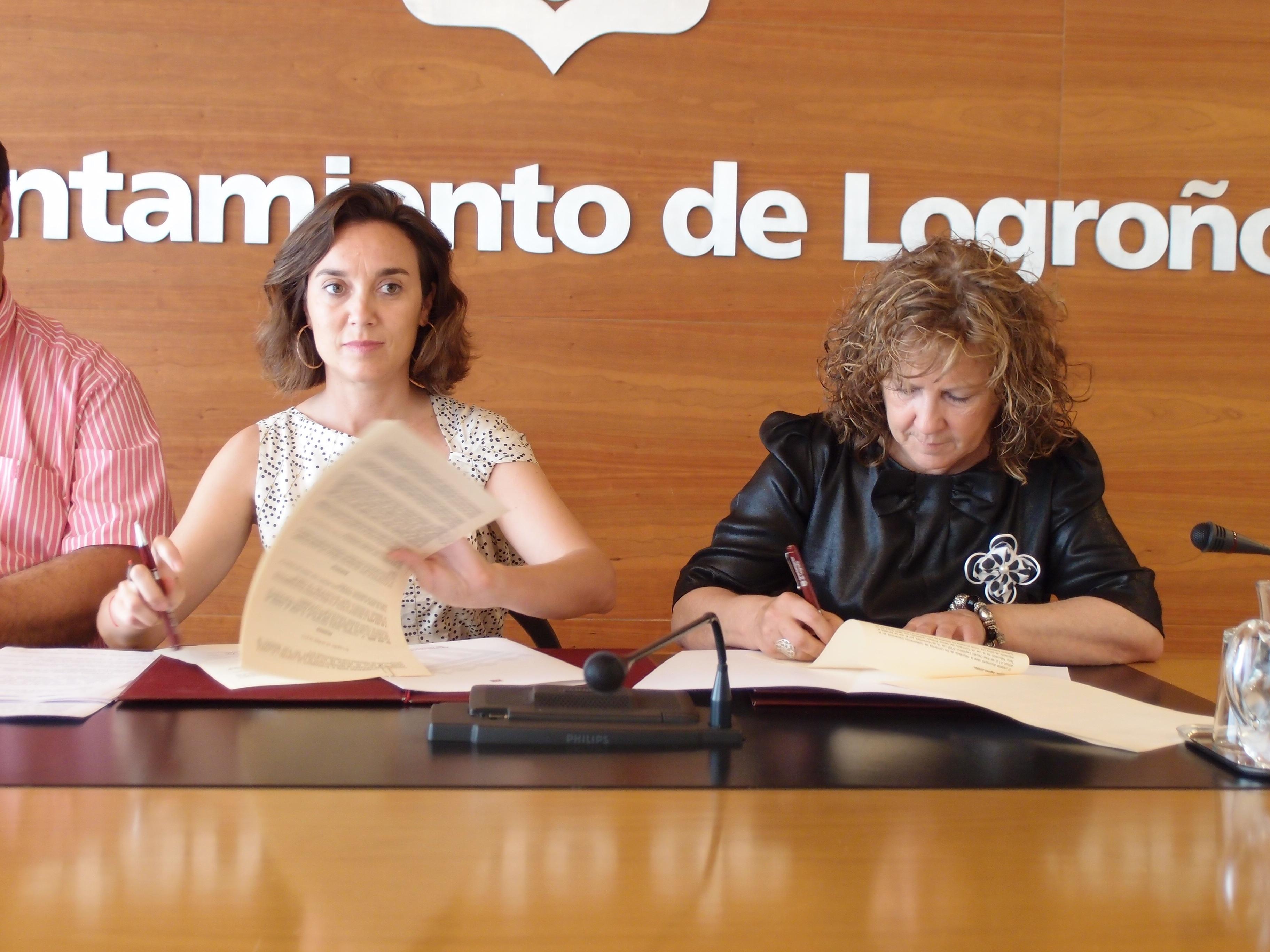 Ayuntamiento de Logroño y CERMI renuevan su colaboración en el IV Plan Municipal de Personas con Discapacidad